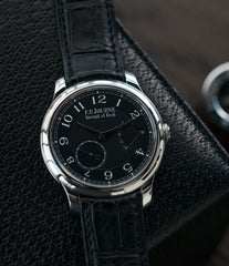 buy Black Label F. P. Journe Chronometre Souverain 40 mm platinum for sale online at A Collected Man London online specialist of independent watchmakers