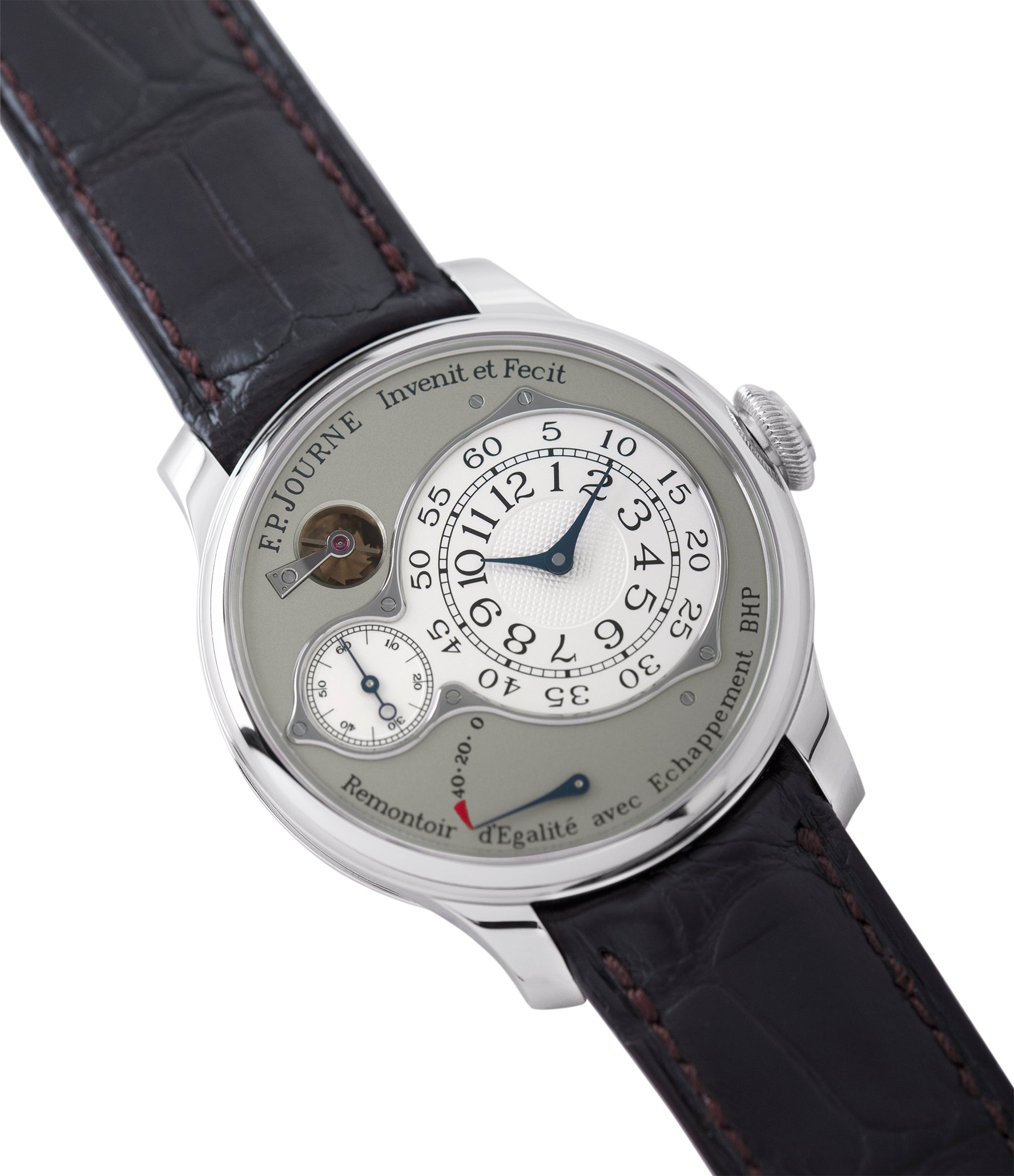 selling F. P. Journe Chronometre Optimum platinum rare watch for sale online at A Collected Man London approved retailer of independent watchmakers