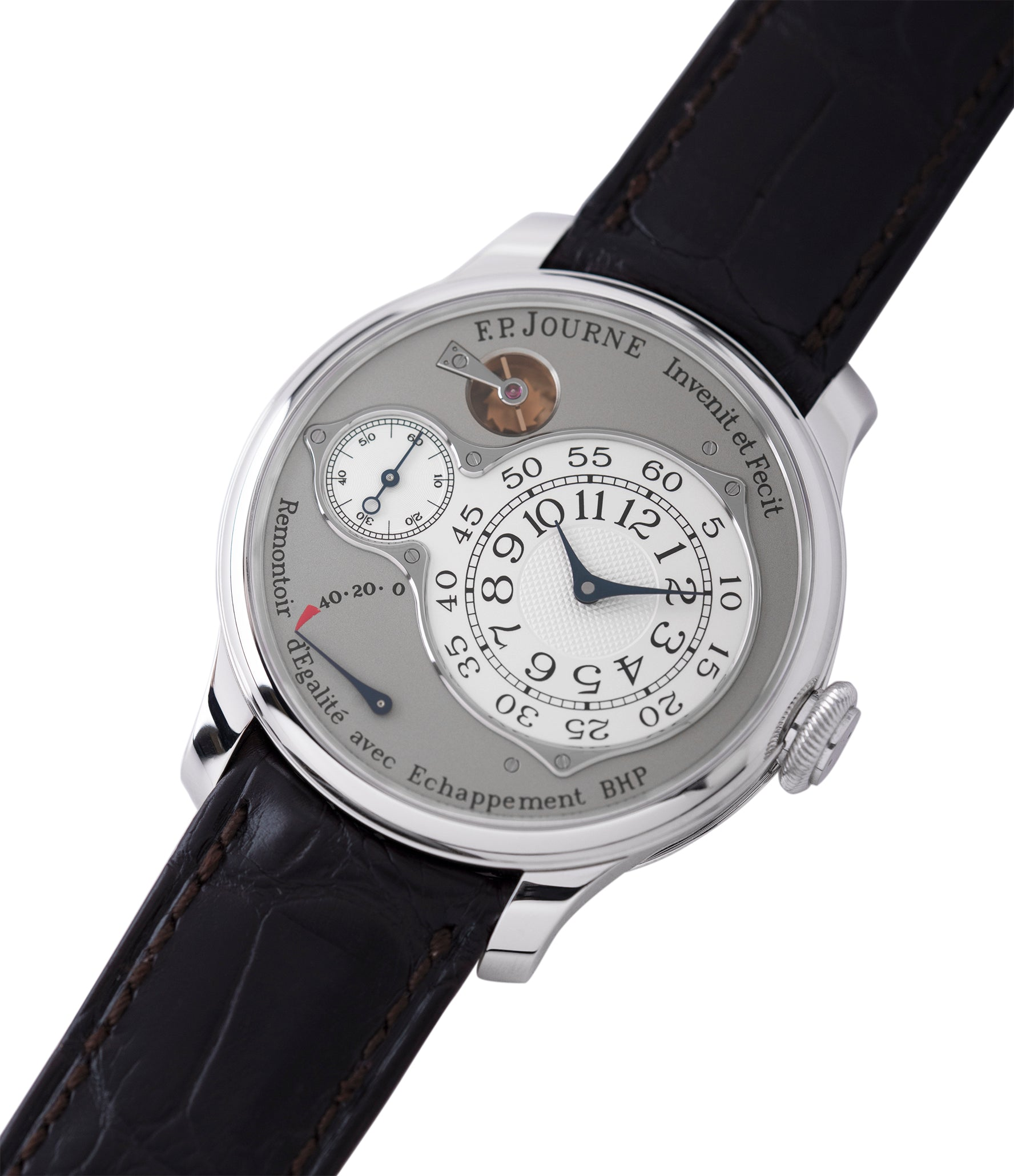 sell F. P. Journe Chronometre Optimum platinum rare watch for sale online at A Collected Man London approved retailer of independent watchmakers