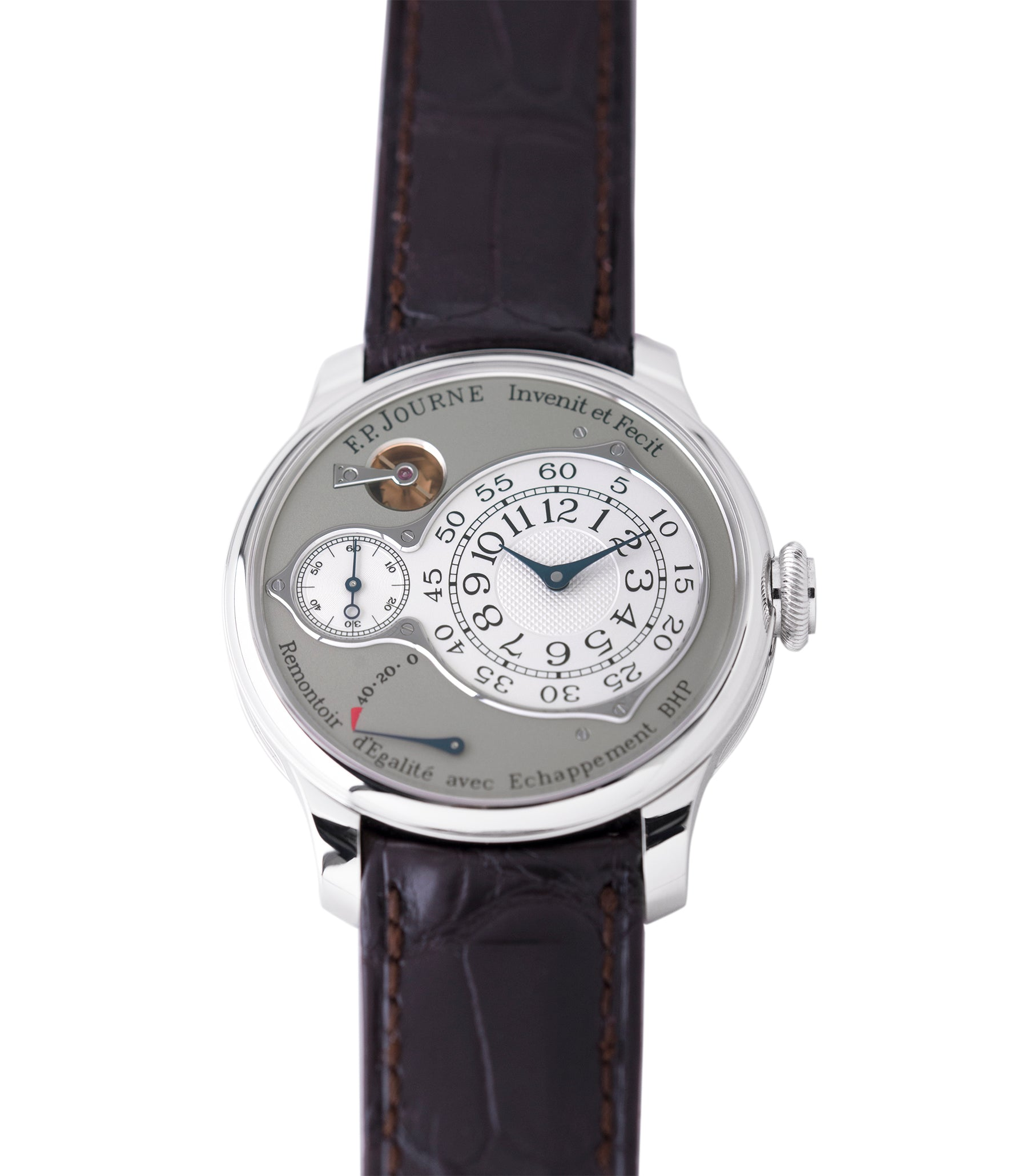 selling preowned F. P. Journe Chronometre Optimum platinum rare watch for sale online at A Collected Man London approved retailer of independent watchmakers