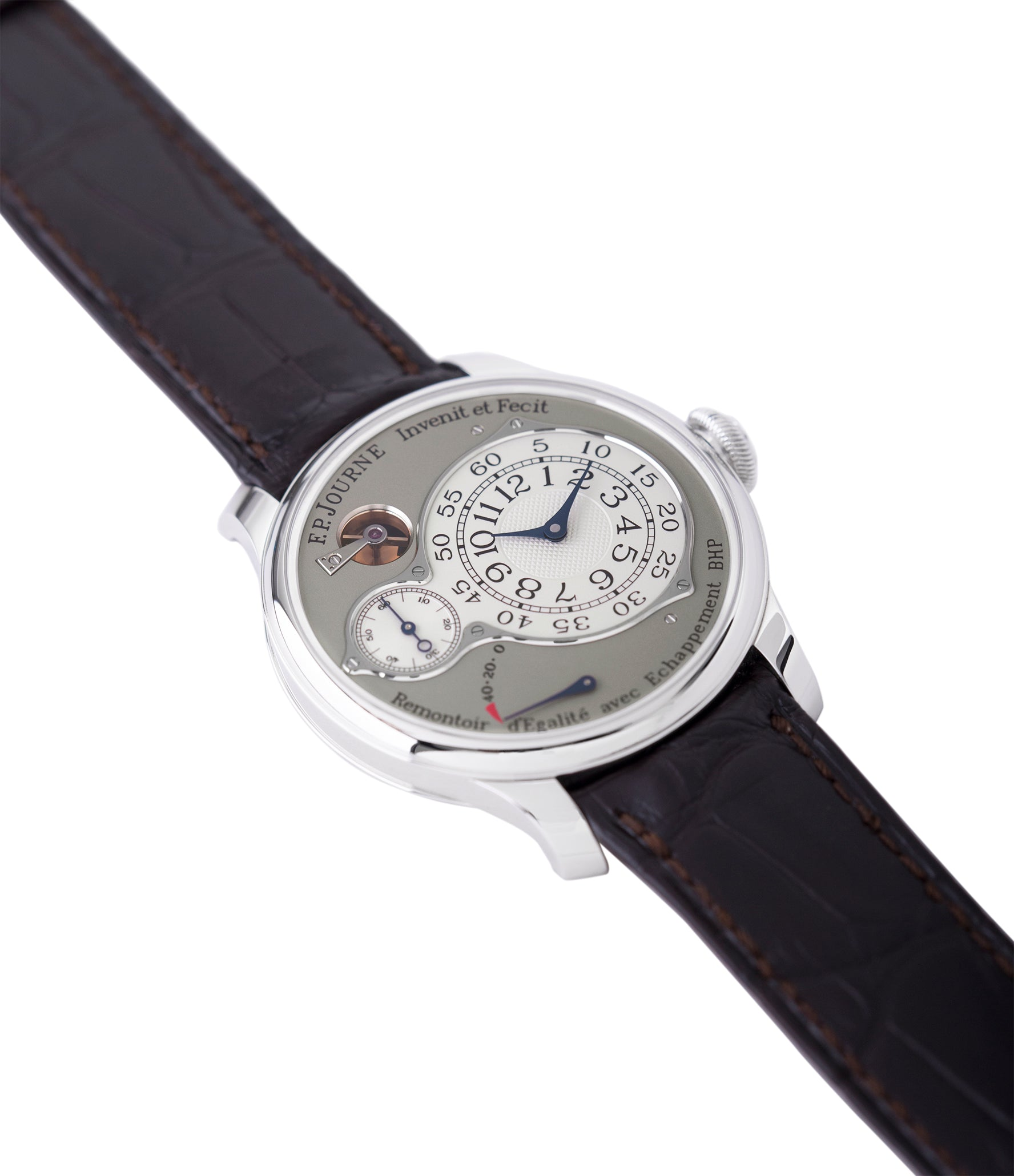 buy preowned F. P. Journe Chronometre Optimum platinum rare watch for sale online at A Collected Man London approved retailer of independent watchmakers