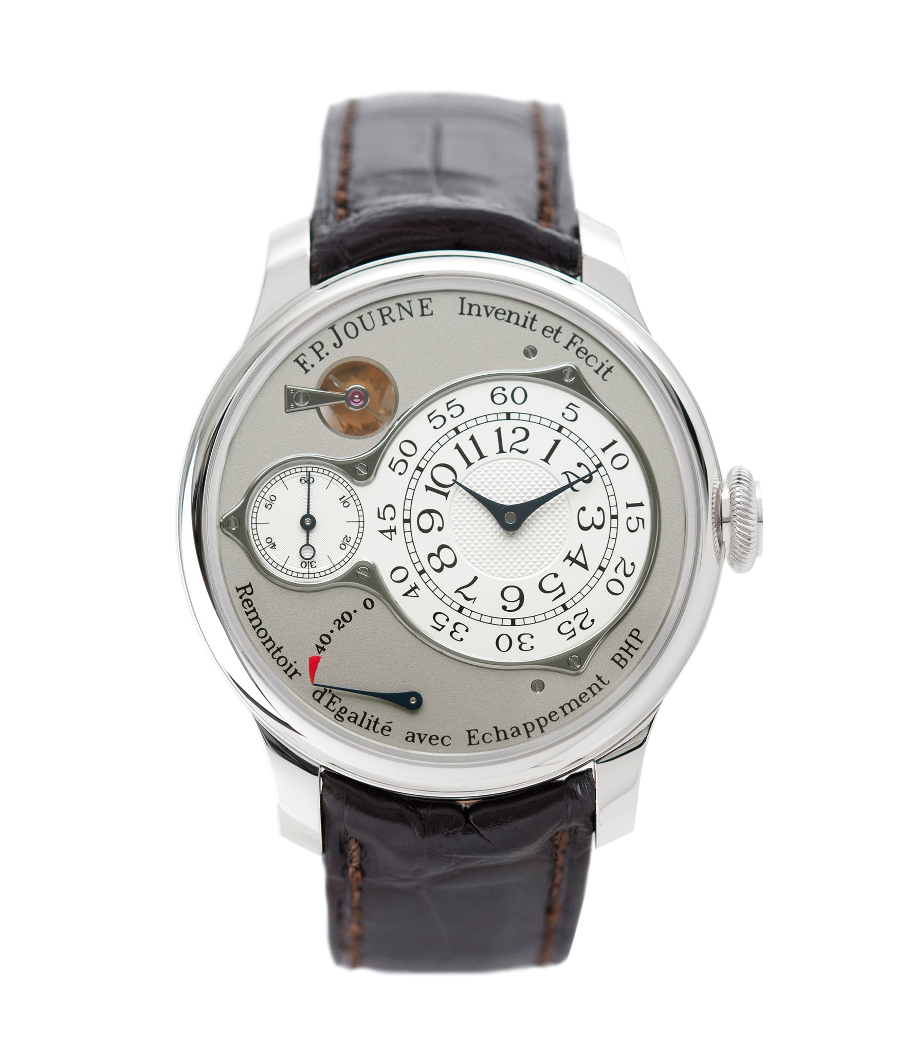 buy F. P. Journe Chronometre Optimum platinum rare watch for sale online at A Collected Man London approved retailer of independent watchmakers