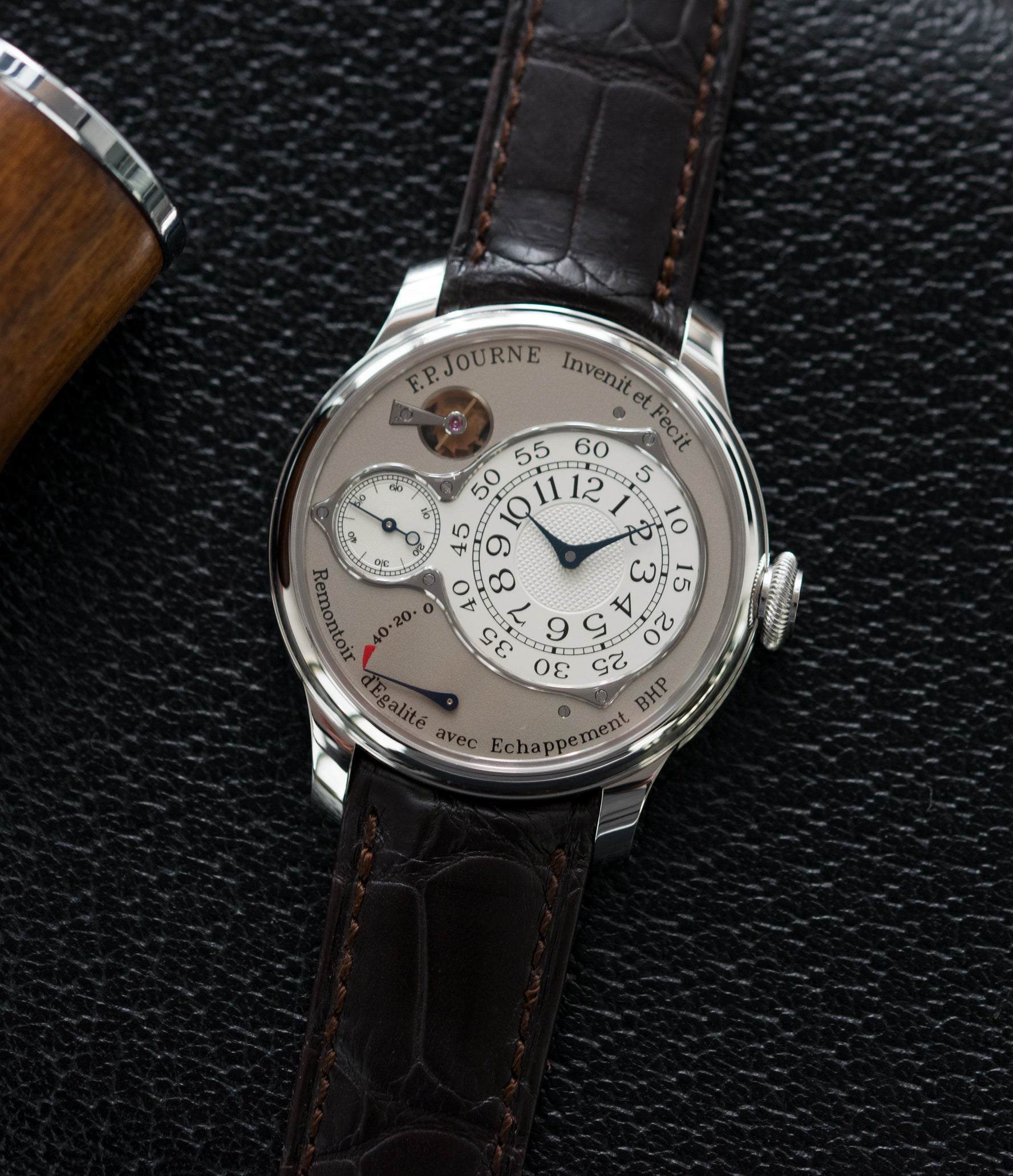 for sale F. P. Journe Chronometre Optimum platinum rare watch for sale online at A Collected Man London approved retailer of independent watchmakers