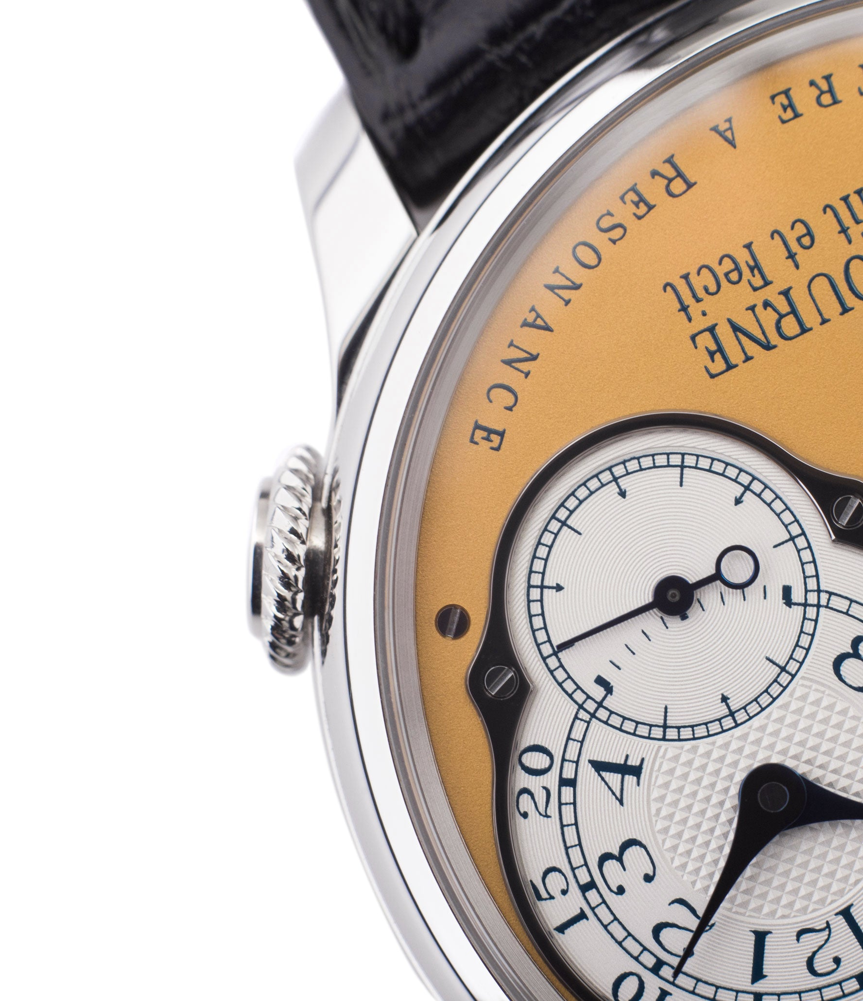 steel 38 mm F. P. Journe Chronomètre à Résonance Limited Edition Set of 5 watches for sale online at A Collected Man London approved UK retailer independent watchmakers