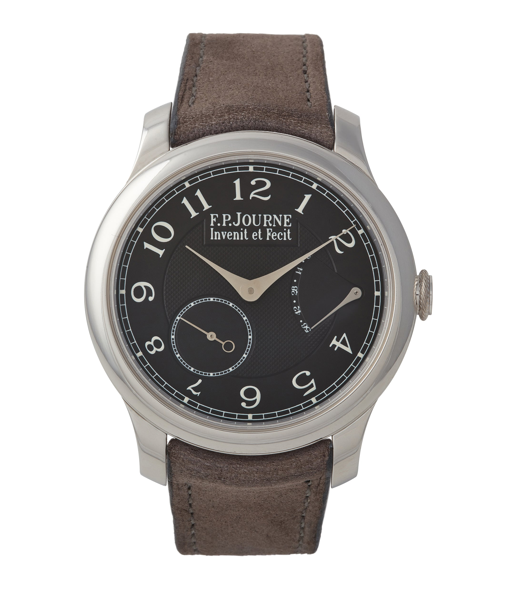 buy F. P. Journe Chronomètre Souverain CS Black Label Boutique Edition platinum 40mm dress watch for sale online A Collected Man London UK specialist of rare watches