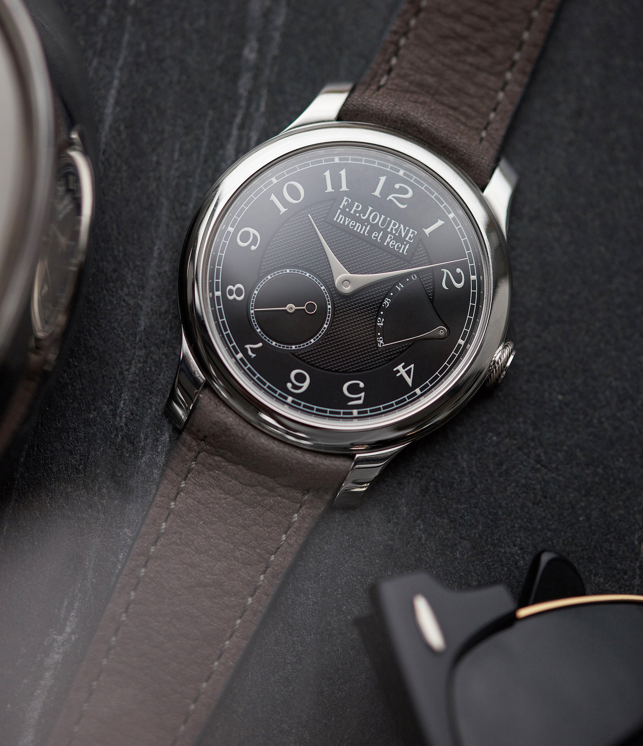 Journe Chronomètre Souverain CS Black Label Boutique Edition platinum 40mm dress watch for sale online A Collected Man London UK specialist of rare watches