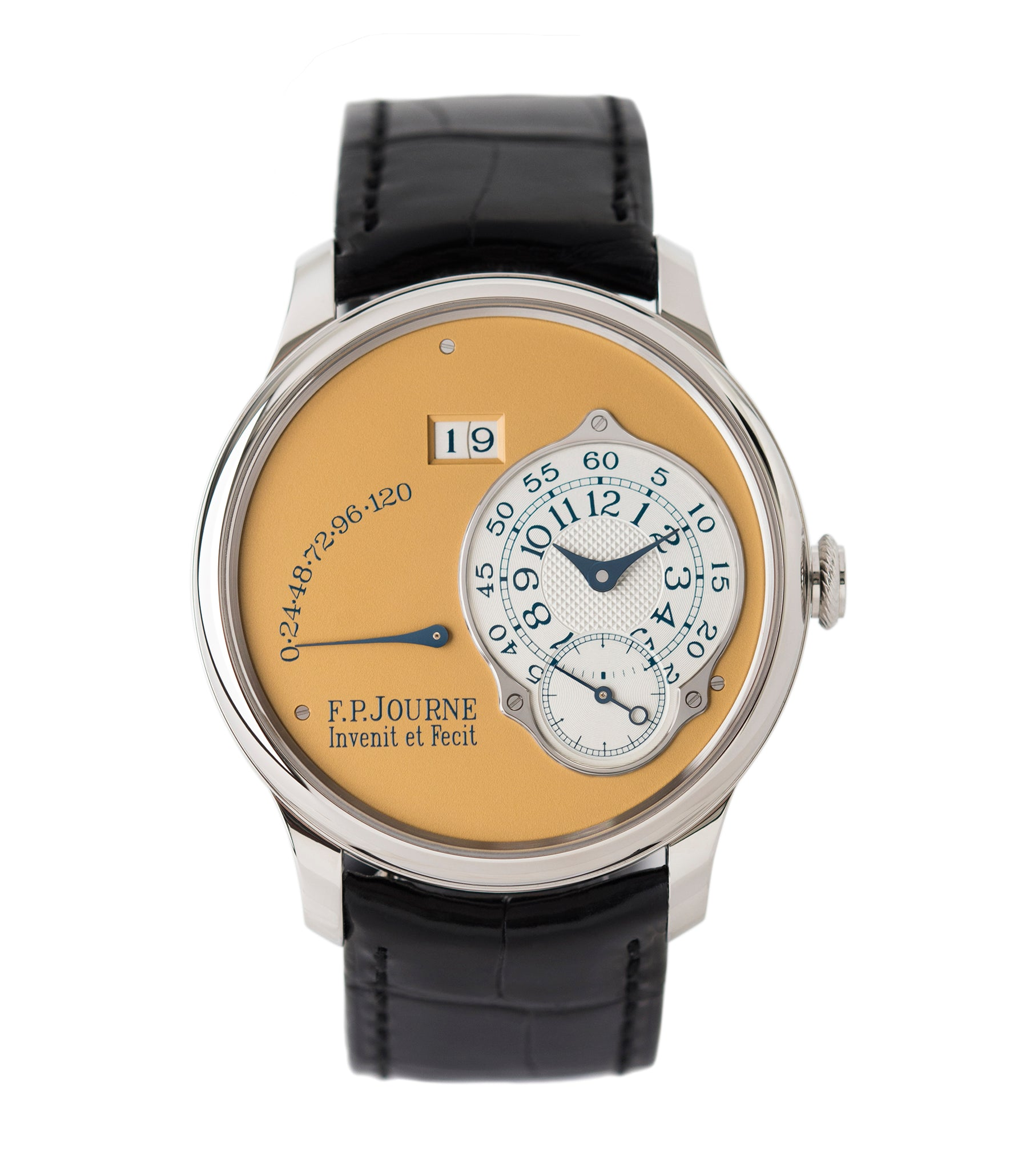 buy F. P. Journe Octa Automatique 38 mm steel limited edition dress watch for sale online at A Collected Man London UK approved seller of independent watchmakers