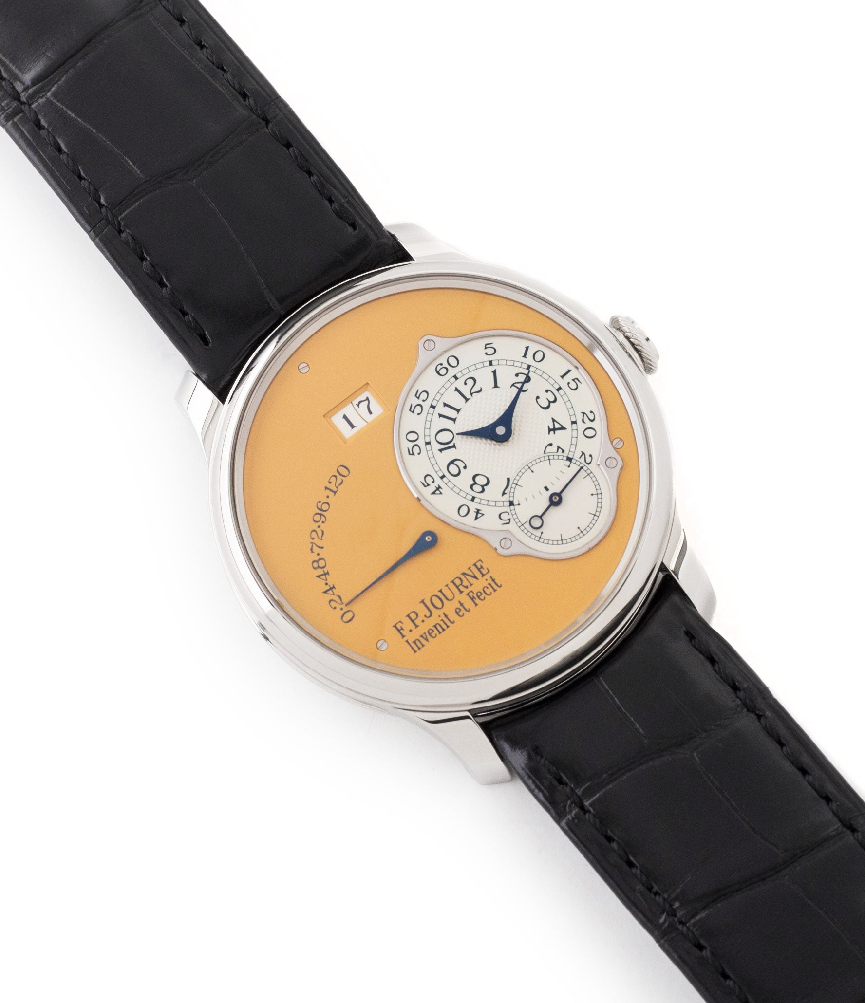 for sale F. P. Journe Octa Automatique 38 mm steel limited edition dress watch for sale online at A Collected Man London UK approved seller of independent watchmakers