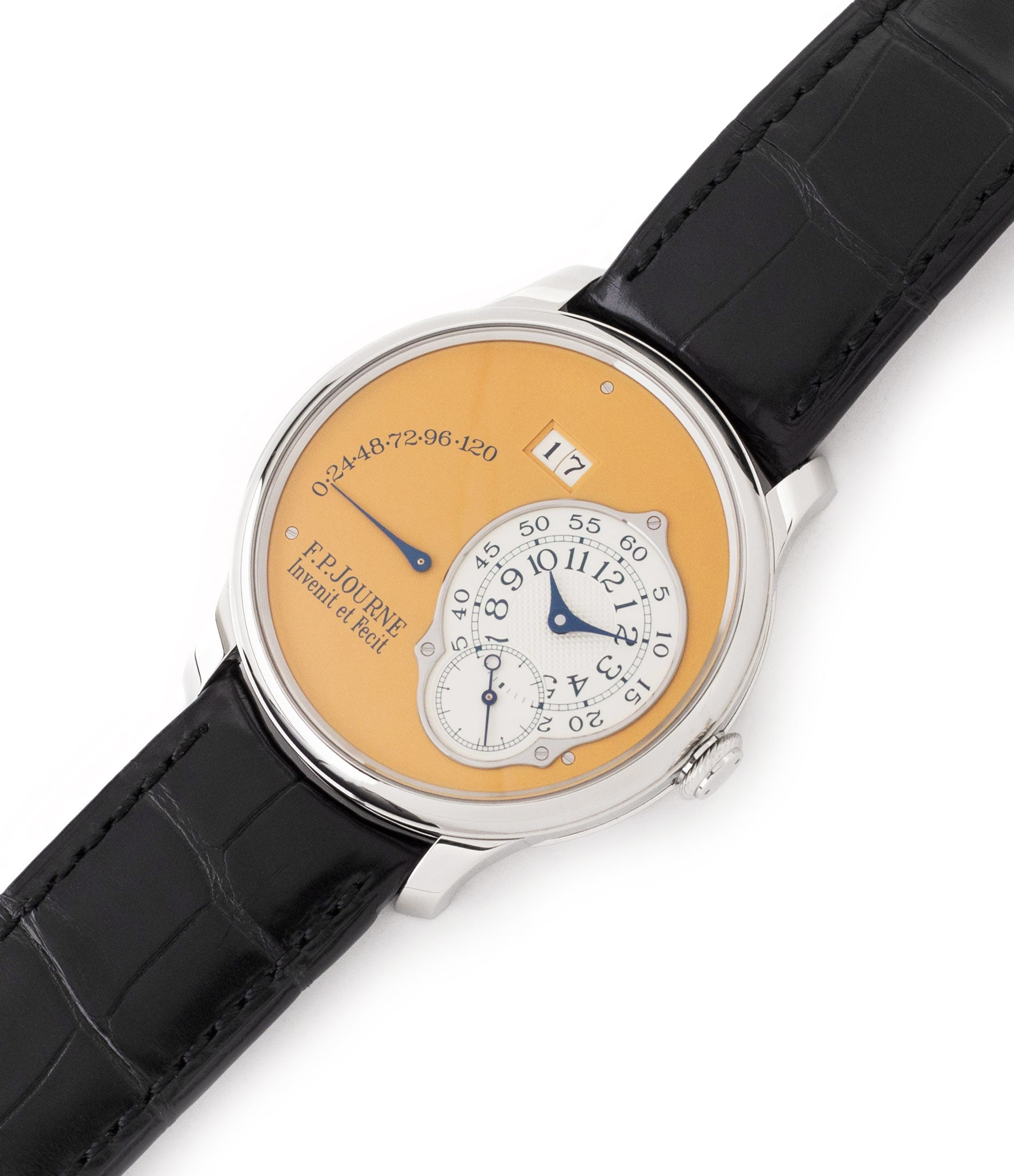 buy preowned F. P. Journe Octa Automatique 38 mm steel limited edition dress watch for sale online at A Collected Man London UK approved seller of independent watchmakers