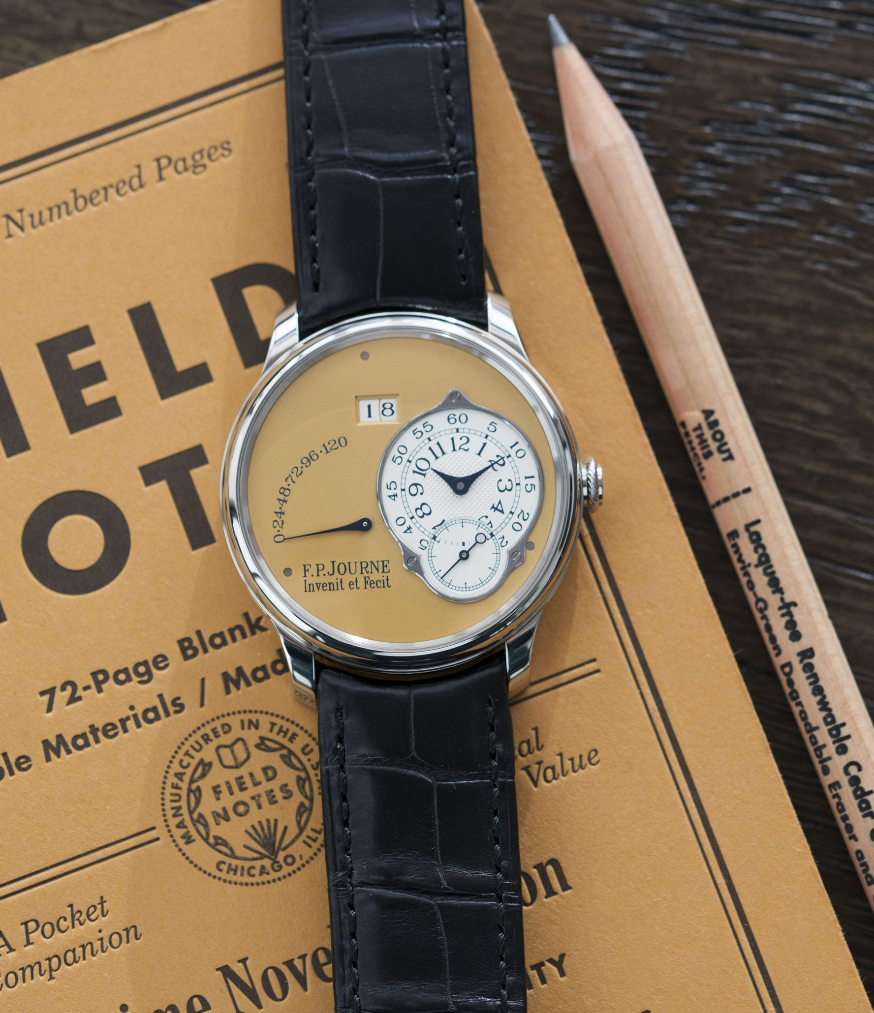 selling F. P. Journe Octa Automatique 38 mm steel limited edition dress watch for sale online at A Collected Man London UK approved seller of independent watchmakers