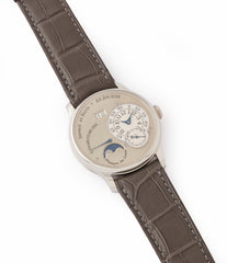 sell F. P. Journe Octa Lune 061-03L early brass movement platinum rare watch for sale online at A Collected Man London specialist of independent watchmakers