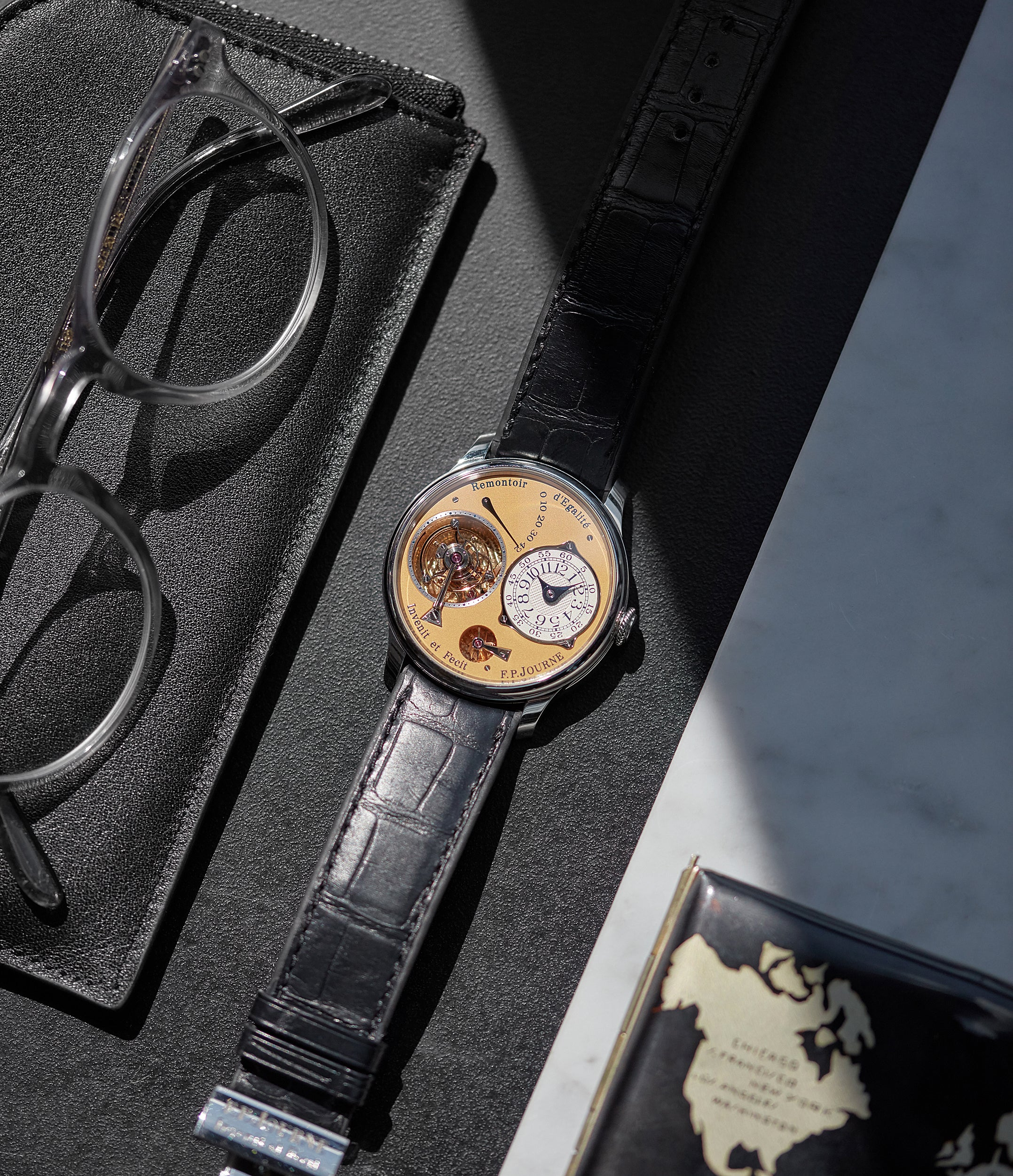 Tourbillon Souverain | Limited Edition | 38 mm Steel