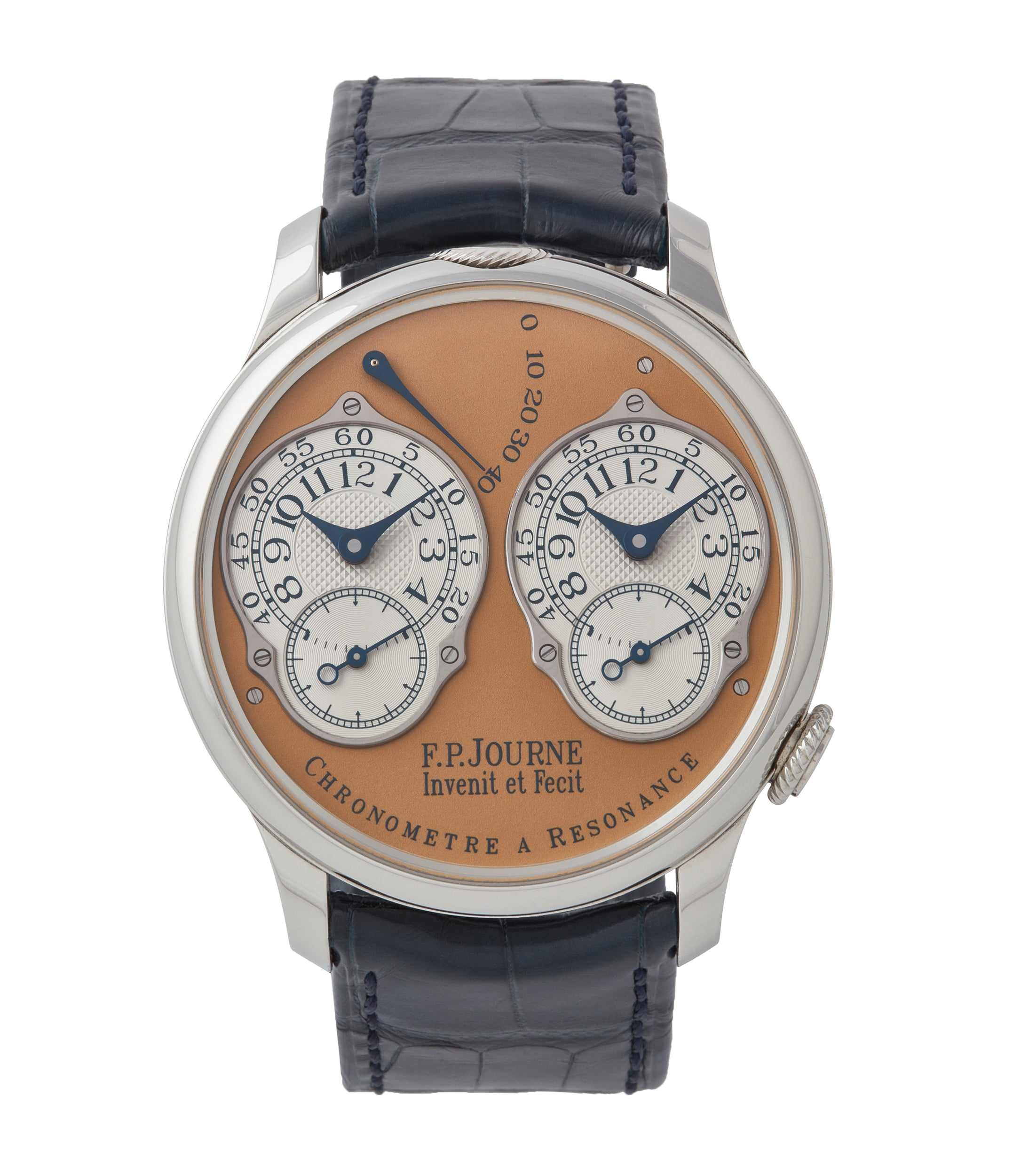 buy F.P. Journe Limited Edition Chronomètre Résonance steel 38mm dress watch for sale online at A Collected Man London UK specialist of independent watchmakers