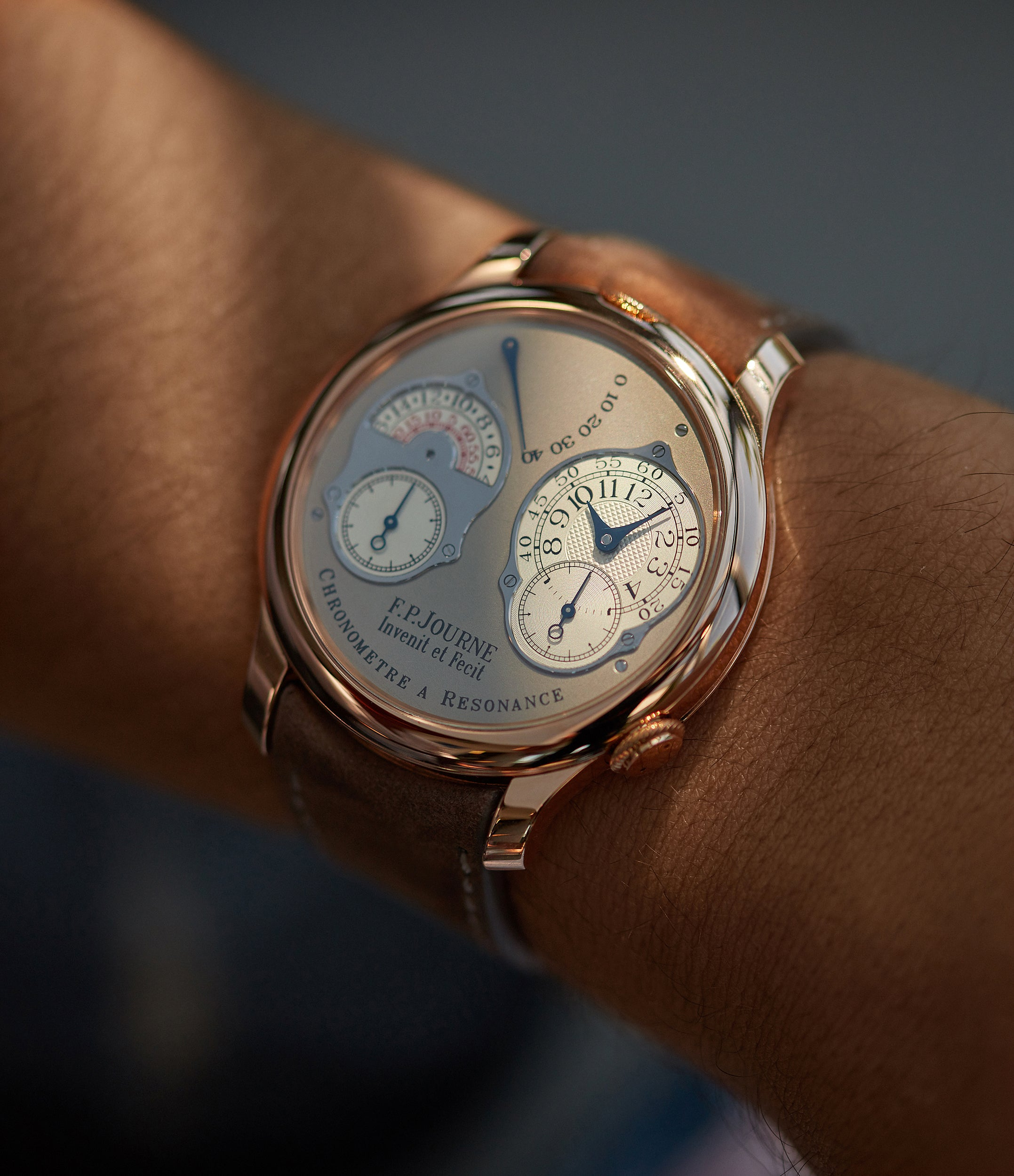 Chronomètre à Résonance | RT | rose gold