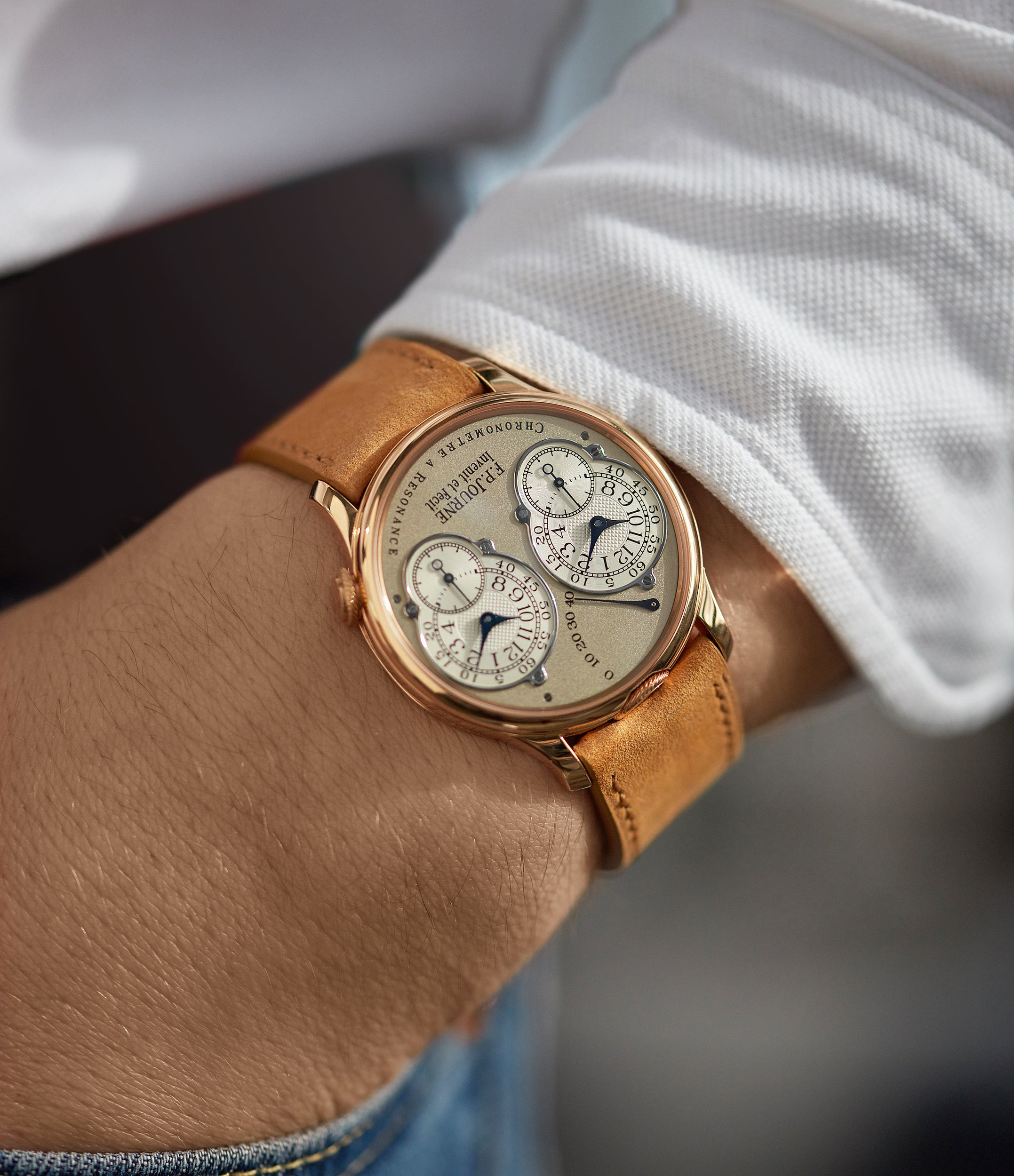 Chronomètre à Résonance | rose gold