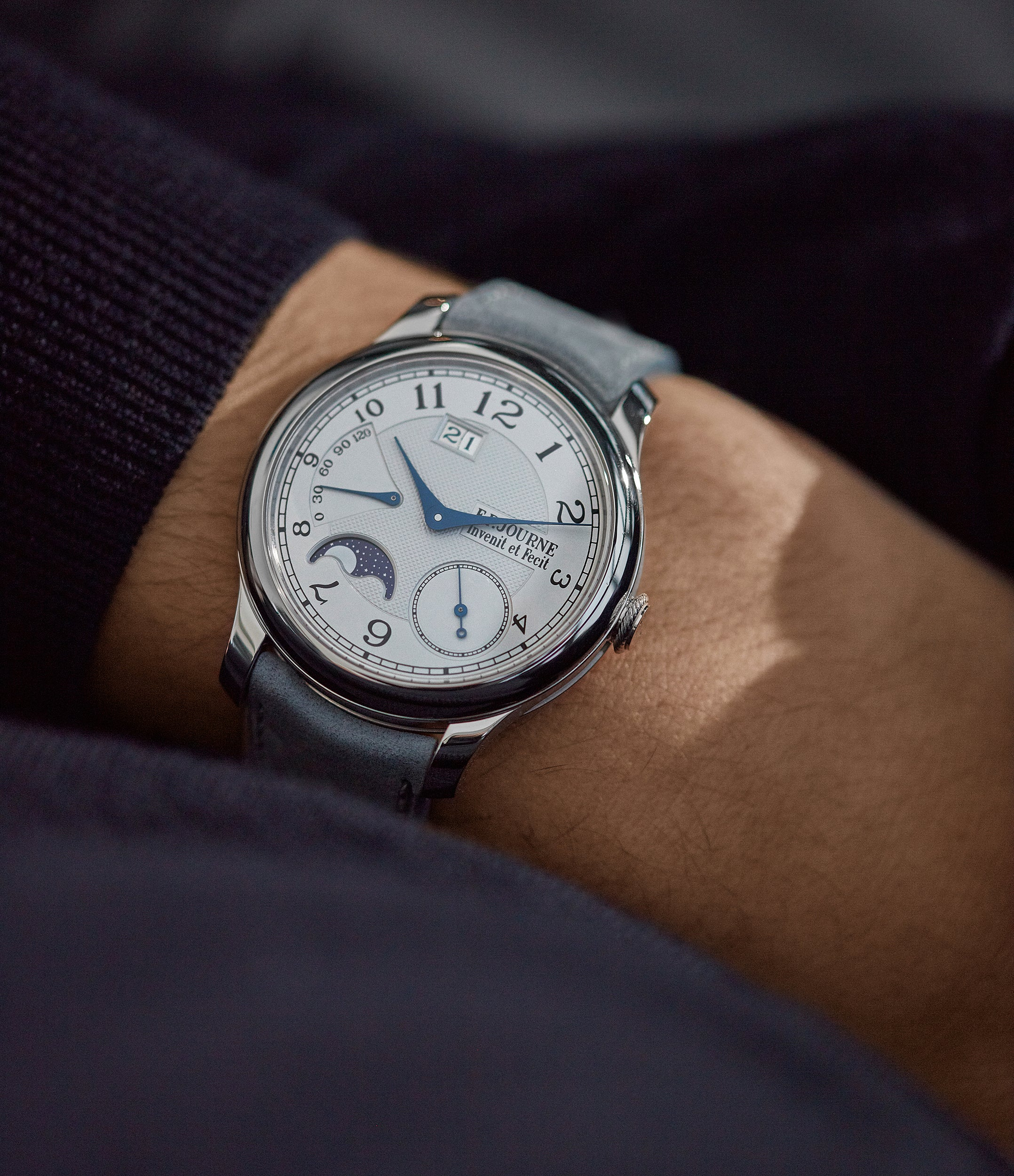 Octa Automatique Lune | 40mm | platinum