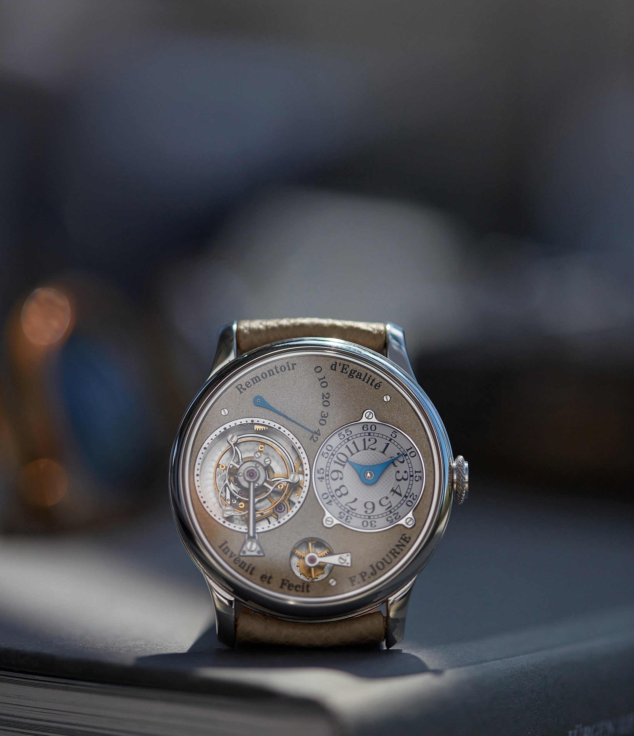 Tourbillon | Brass Movement | 38mm platinum