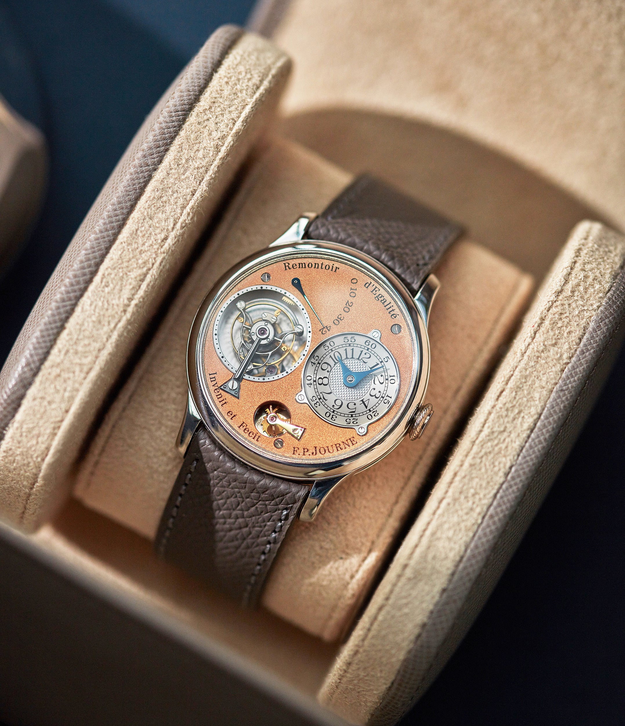 Tourbillon Souverain | 3rd Generation | Brass Movement