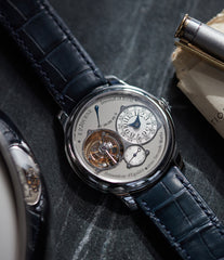 Tourbillon Souverain | Seconde Morte | 40mm platinum