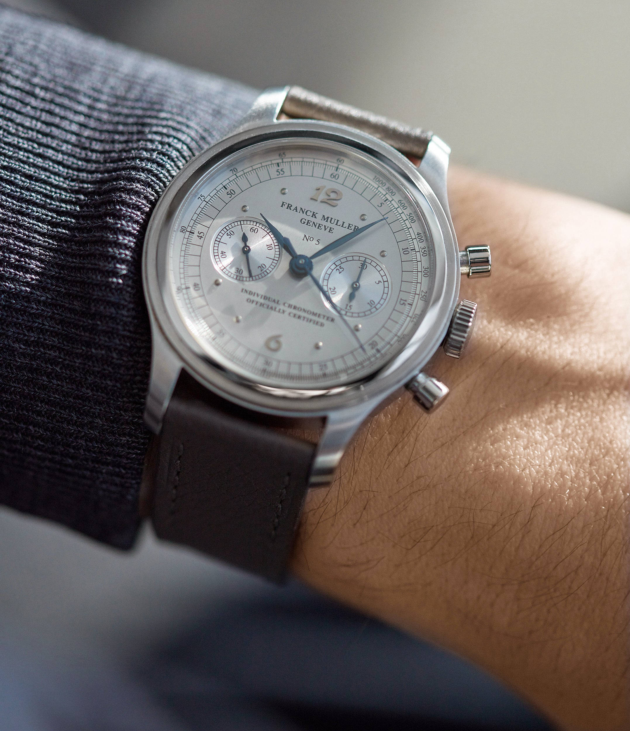 Chronograph | early production | steel