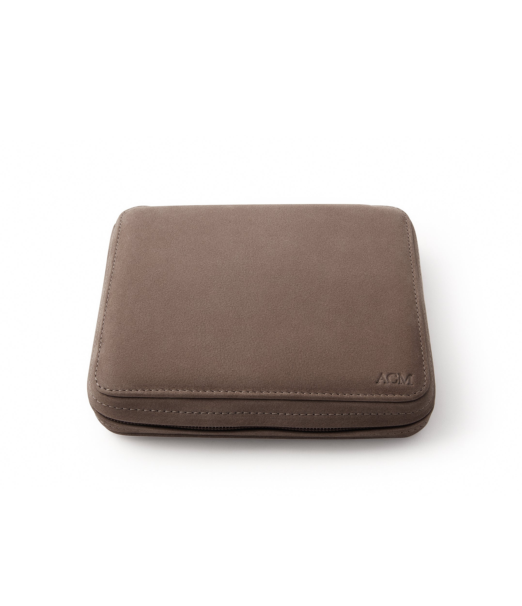 shop brown nubuck watch travel zip pouch accessories six watches order online A Collected Man London