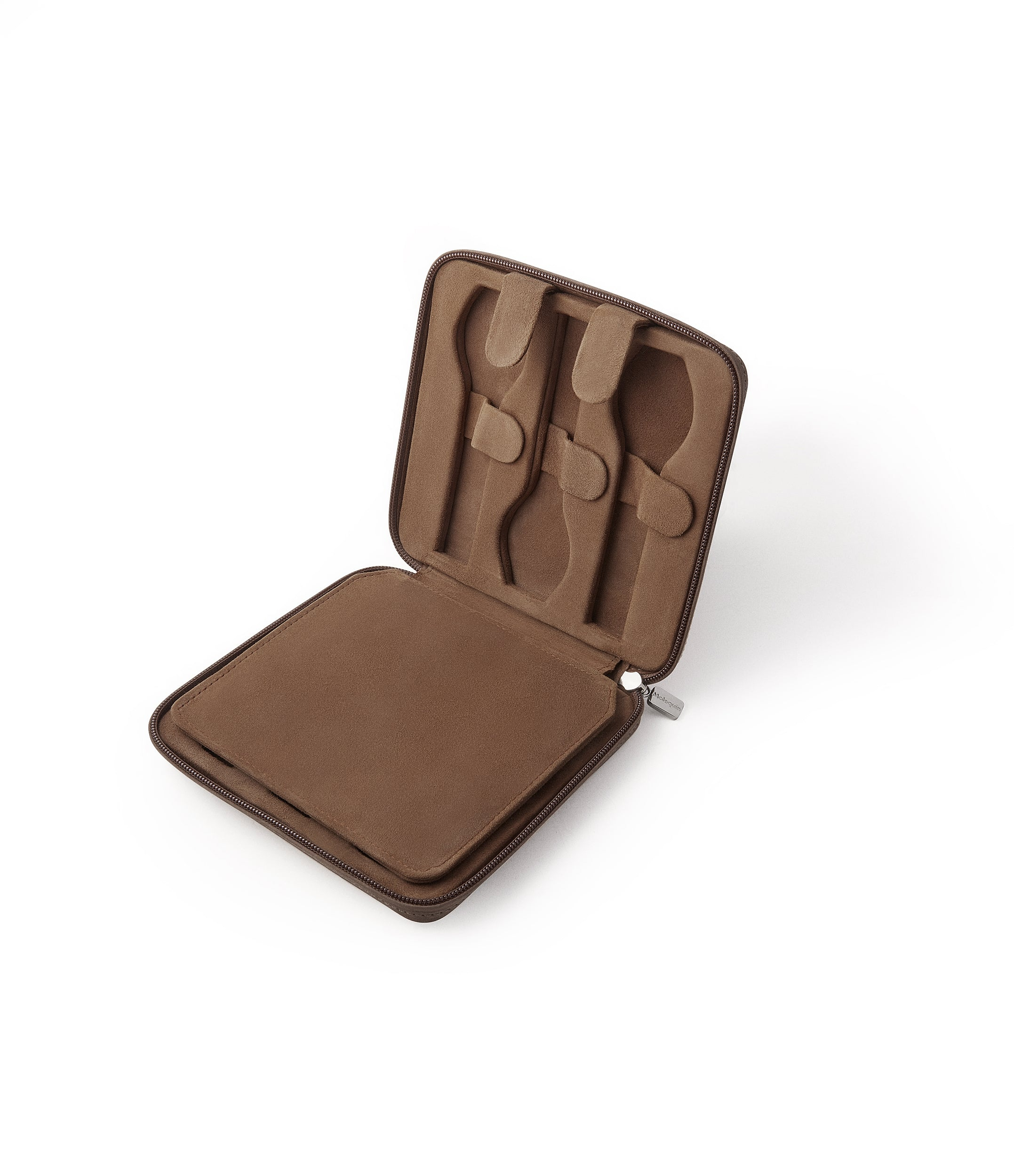 order taupe brown buffalo watch travel zip pouch accessories six watches order online A Collected Man London