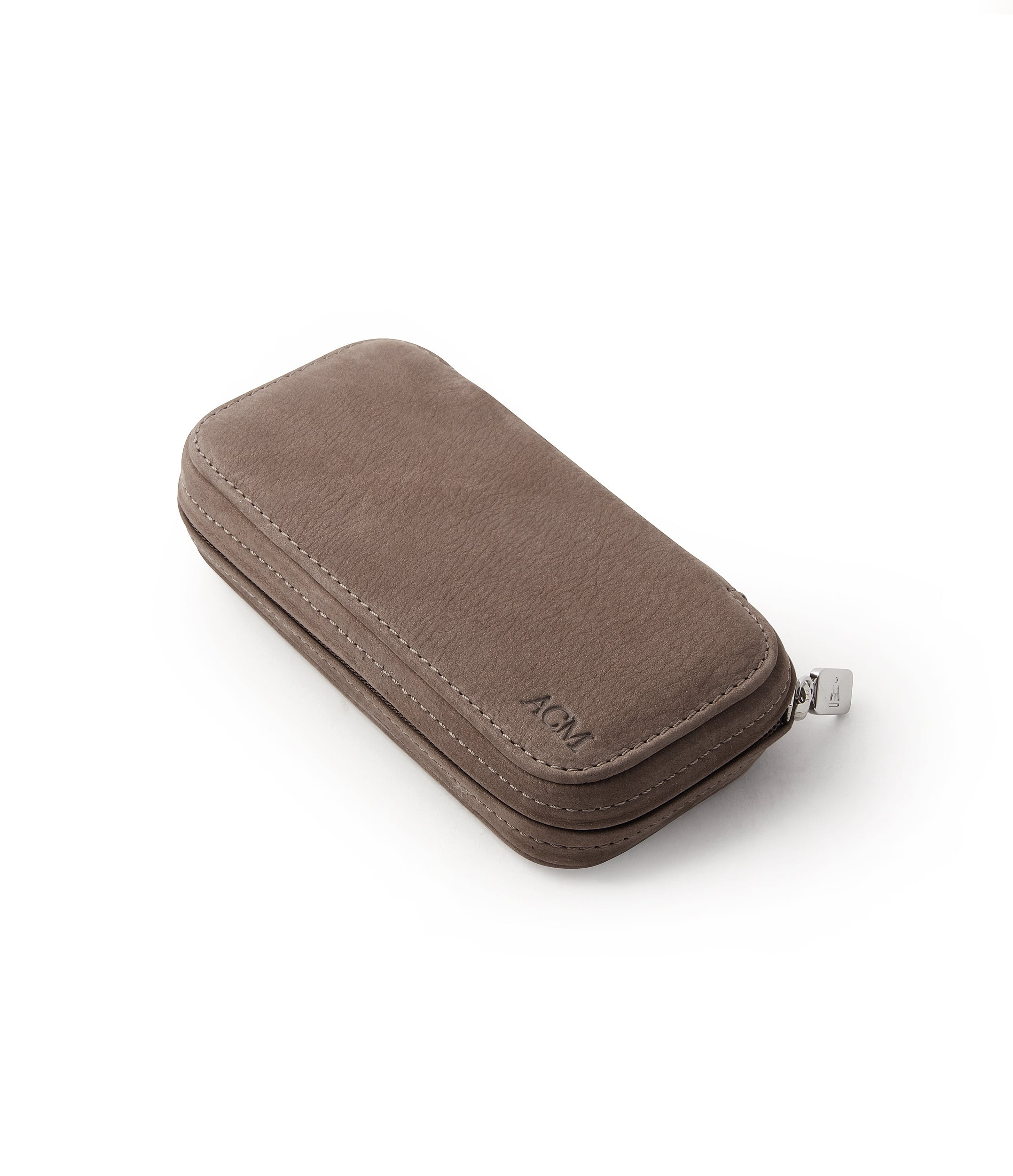 buy taupe brown watch travel zip pouch accessories for two watches order online A Collected Man London