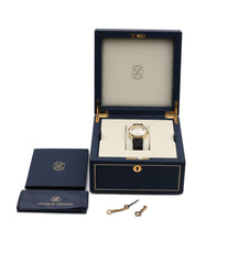 box full set George Daniels Anniversary watch by Roger W. Smith independent watchmaker yellow gold rare watch for sale online WATCH XCHANGE London with signed papers