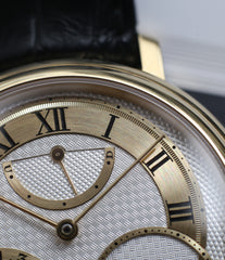 hand-engraved dial George Daniels Anniversary watch by Roger W. Smith independent watchmaker yellow gold rare watch for sale online WATCH XCHANGE London with signed papers