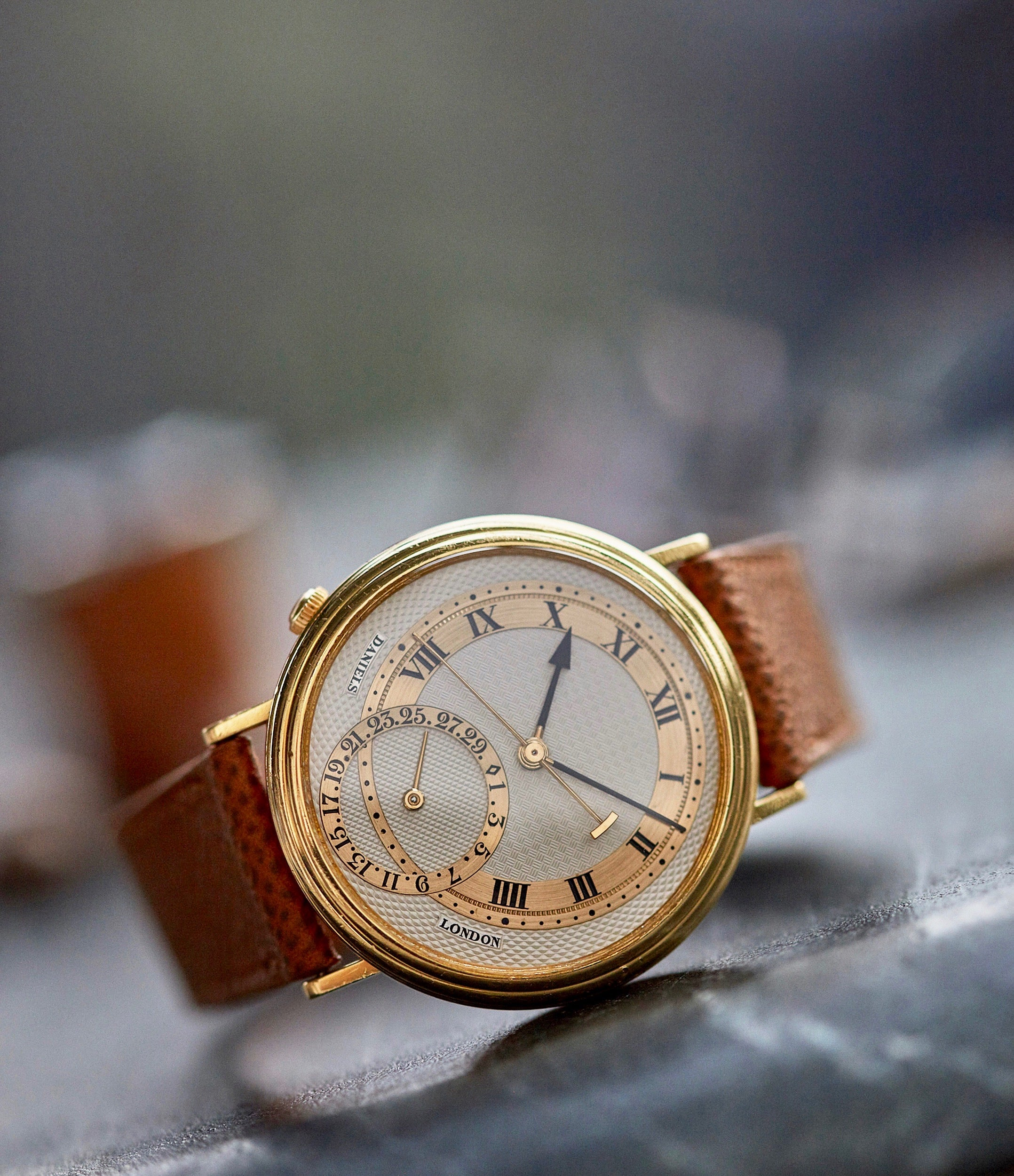 collect rare George Daniels Millennium Co-axial yellow gold dress watch for sale online A Collected Man London