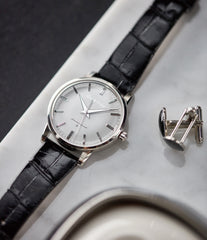 Grand Seiko SBGW251 limited edition platinum time-only dress watch Japanese-made full set at A Collected Man London UK specialist of rare watches