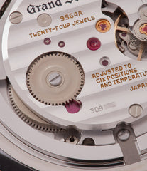 9S64 movement Grand Seiko SBGW251 limited edition platinum time-only dress watch Japanese-made full set at A Collected Man London UK specialist of rare watches