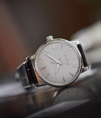 136 Anniversary Grand Seiko SBGW251 limited edition platinum time-only dress watch Japanese-made full set at A Collected Man London UK specialist of rare watches