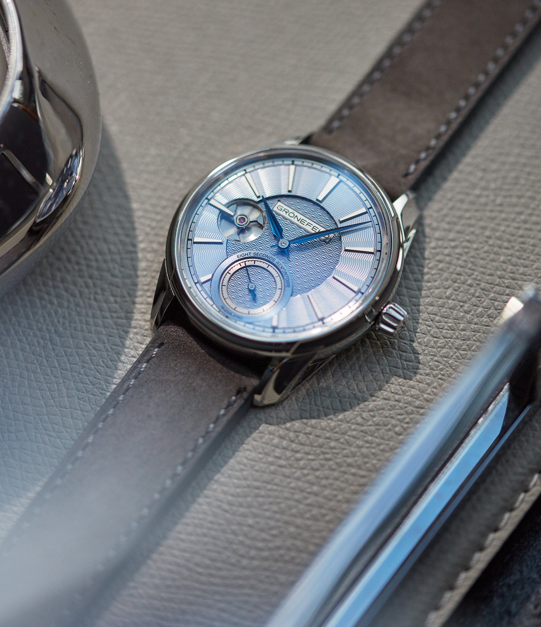 1941 Remontoire | Voutilainen dial | stainless steel