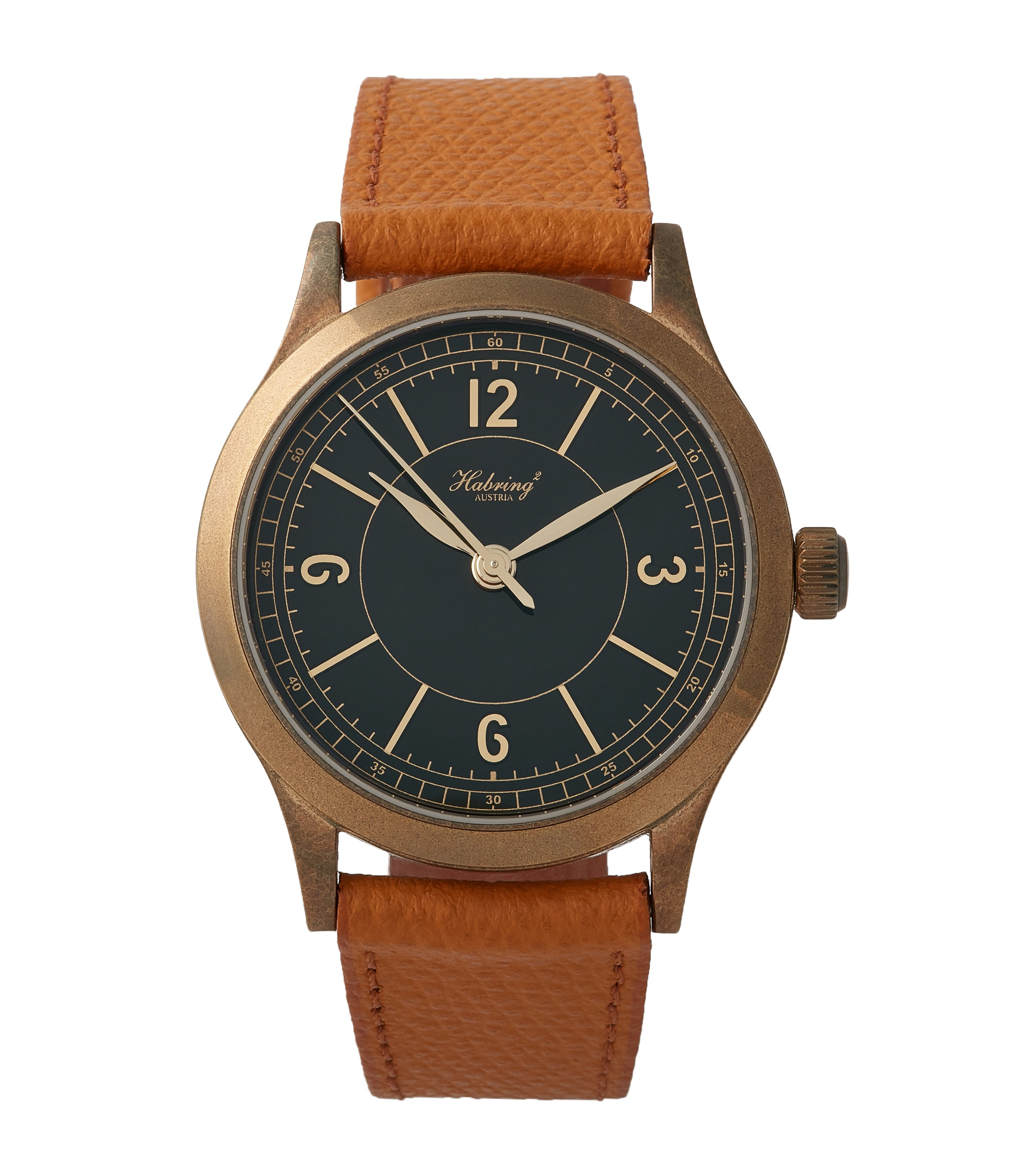buy Habring2 Erwin LAB 01 Massena LAB Limited Edition bronze independent watchmaker dress watch for sale online at A Collected Man London UK rare watches