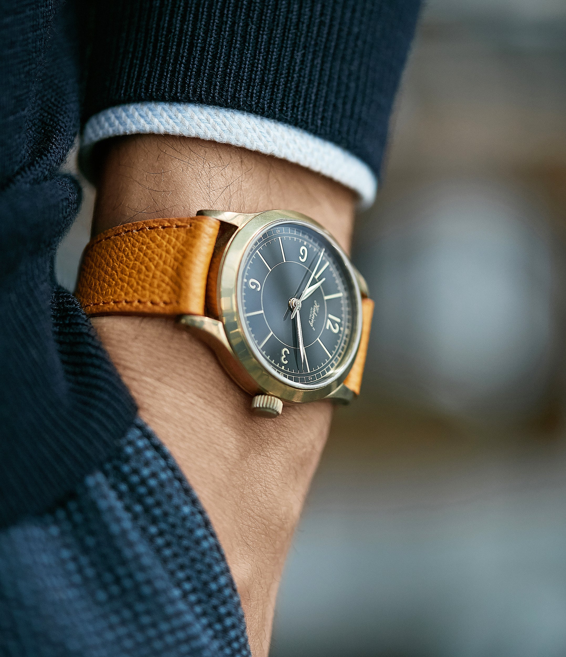 men's luxury dress watch Habring2 Erwin LAB 01 Massena LAB Limited Edition bronze independent watchmaker dress watch for sale online at A Collected Man London UK rare watches