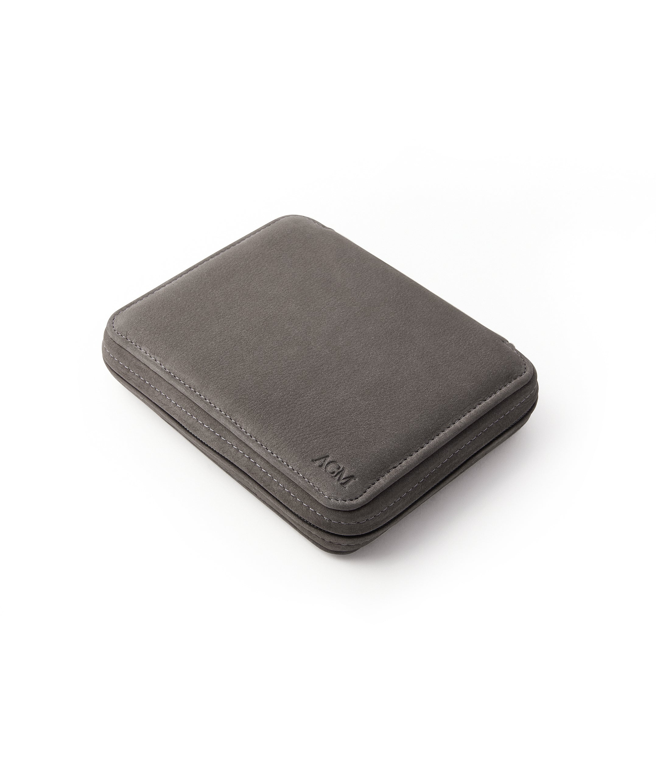 buy grey nubuck watch travel zip pouch accessories for four watches order online A Collected Man London