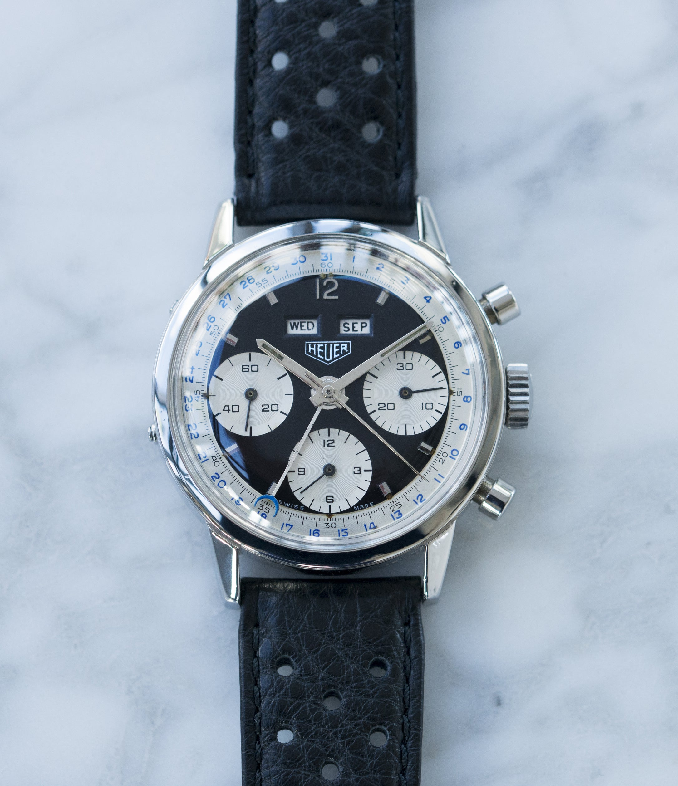 chronograph watches alzenau silver more alexander poljot as rare en views shorokhoff