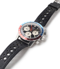 buy vintage chronograph Heuer Autavia GMT 2446C steel watch online at A Collected Man London