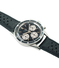 buy vintage Heuer Autavia Rindt 2446 Valjoux 72 manual-winding steel sport chronograph watch for sale online at A Collected Man London UK vintage rare watch specialist