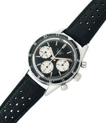 for sale vintage Heuer Autavia Rindt 2446 Valjoux 72 manual-winding steel sport chronograph watch for sale online at A Collected Man London UK vintage rare watch specialist