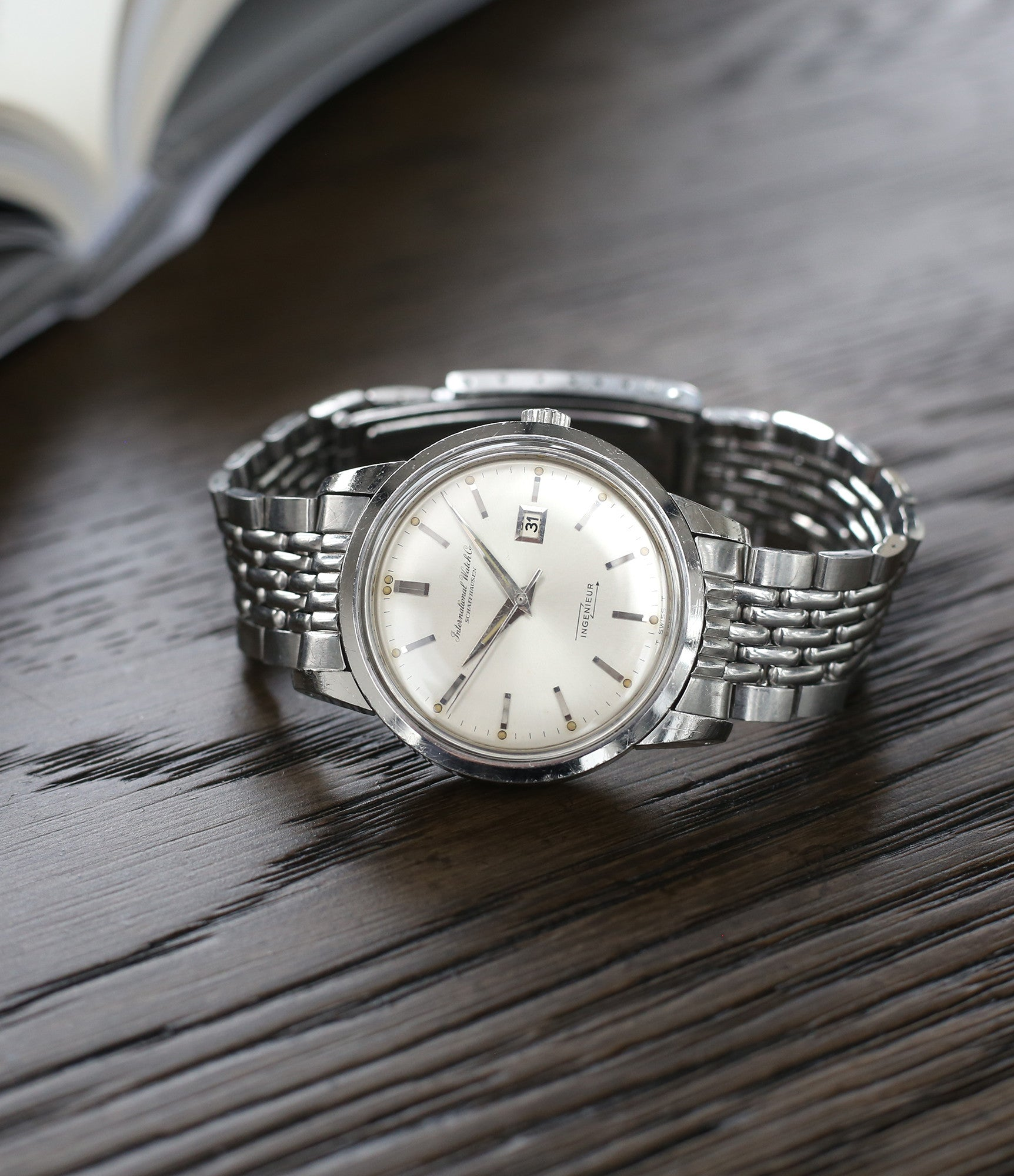 vintage IWC Ingenieur 666AD steel watch for sale at A Collected Man