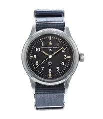 buy IWC Mark XI 6B/346 vintage military RAF pilot steel watch online at A Collected Man London vintage military watch specialist