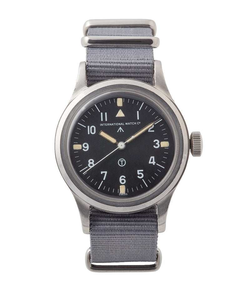 buy vintage IWC Mark 11 6B/346 British RAF pilot's military steel watch for sale online at A Collected Man London UK specialist of rare watches