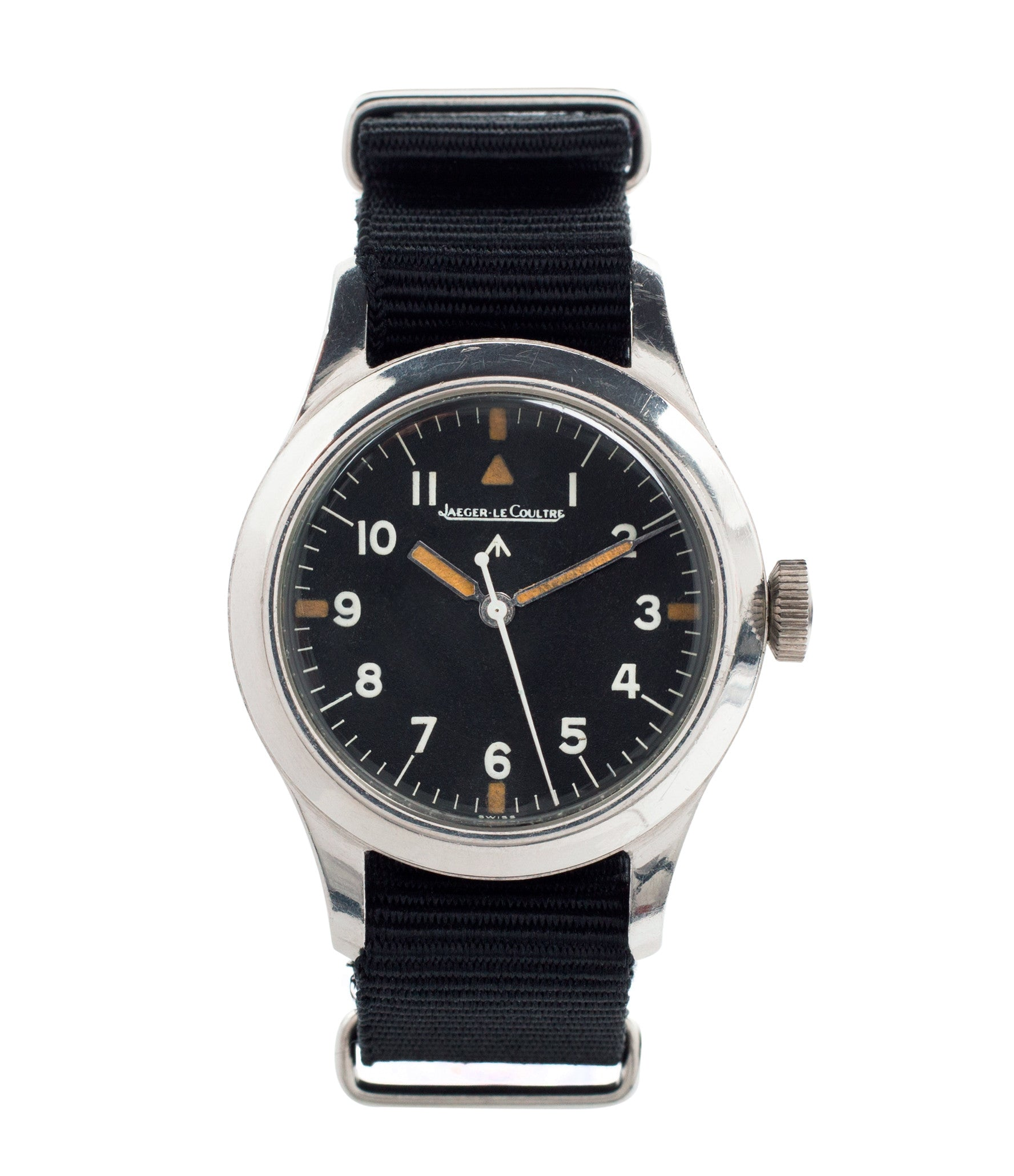 buy vintage Jaeger-LeCoultre Mark 11 6B/346 RAF British military watch online at a Collected Man London online vintage military watch specialist