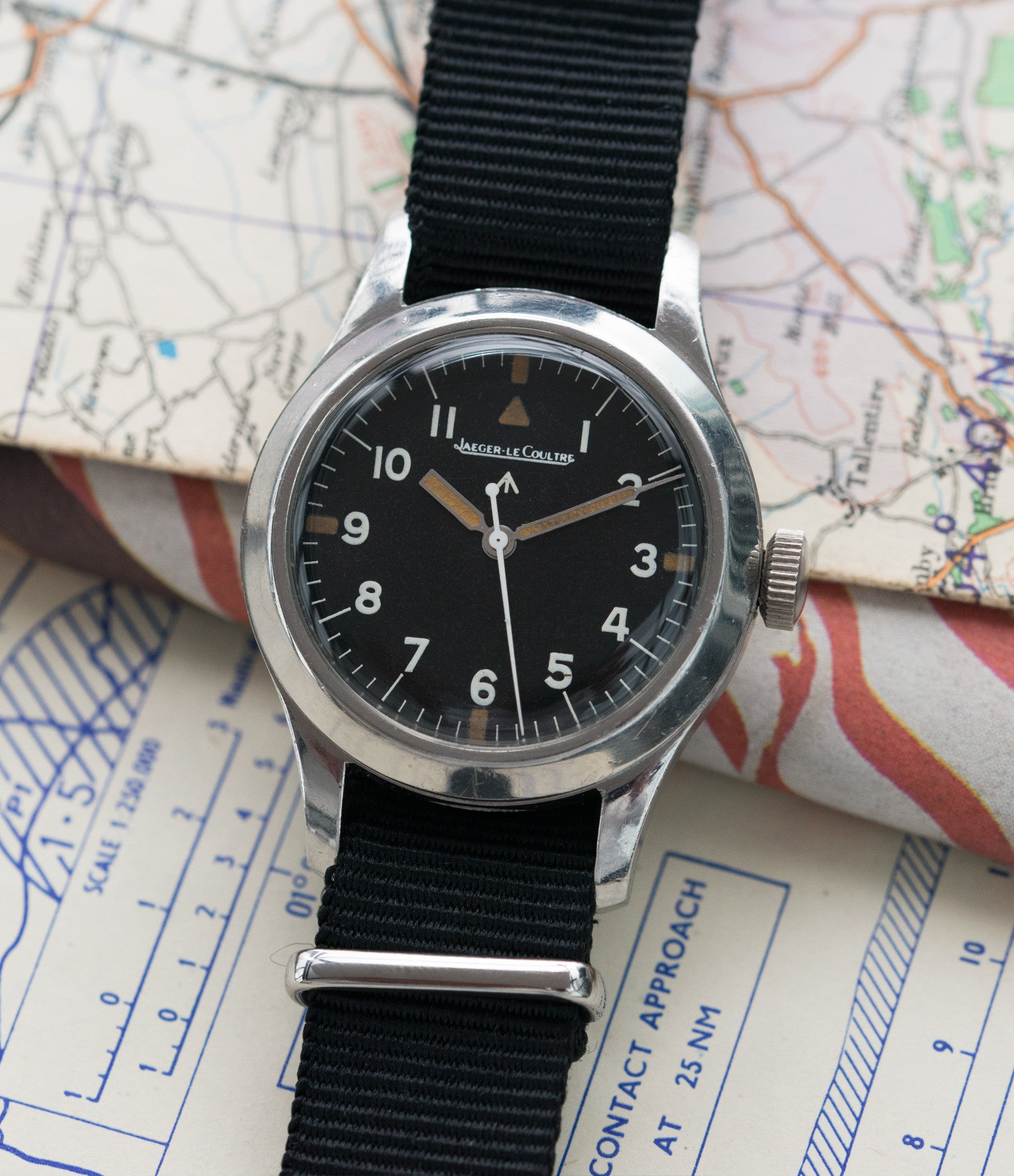 buy vintage military Jaeger-LeCoultre Mark 11 6B/346 RAF British watch online at a Collected Man London online vintage military watch specialist