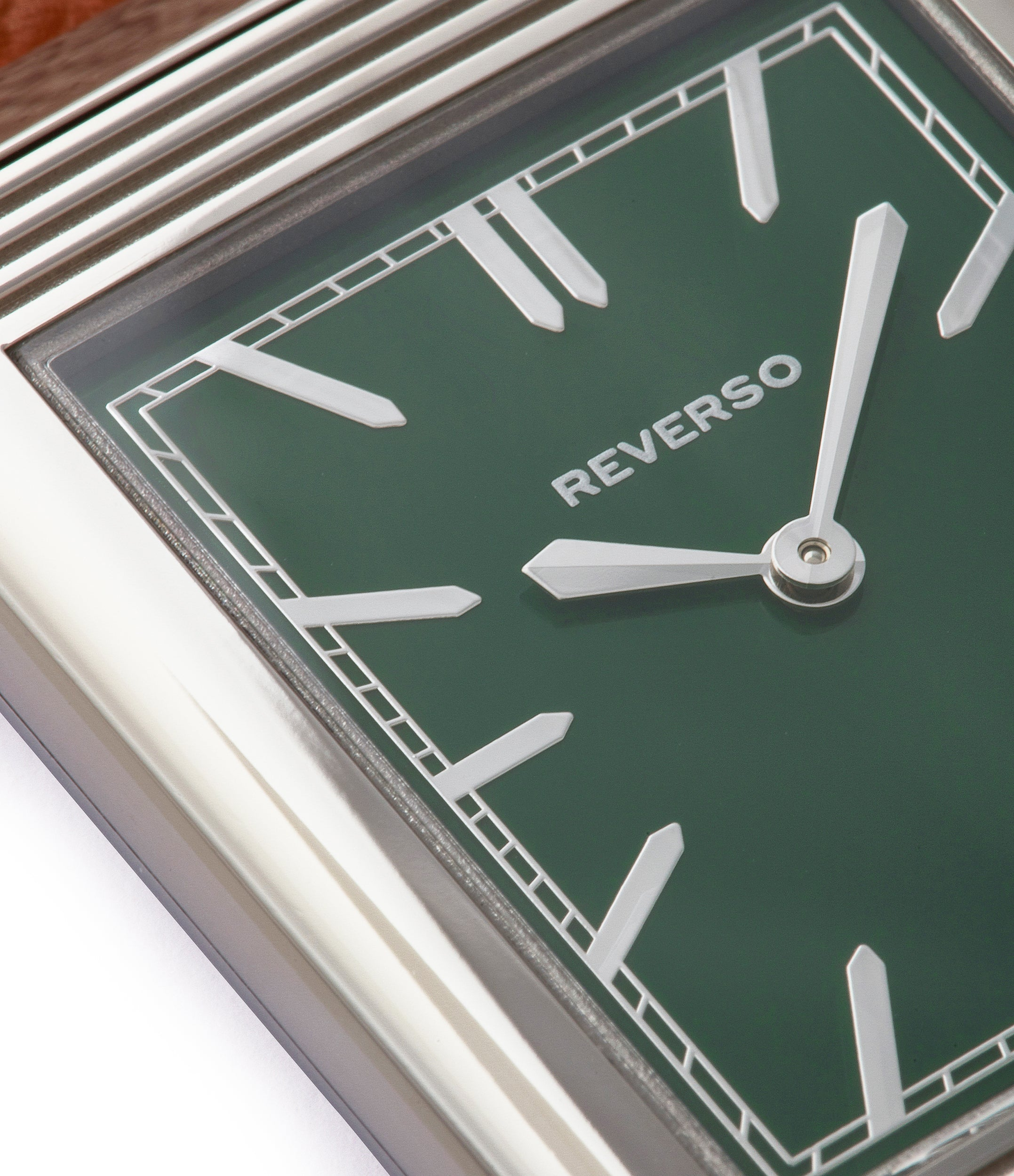 shop green lacquer dial Jaeger-LeCoultre Grand Reverso 1931 London Flagship Edition