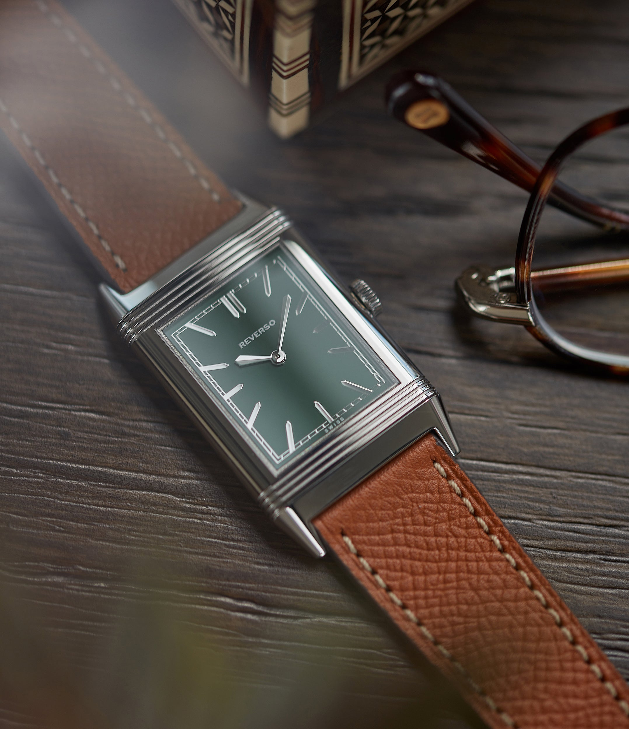 purchase Jaeger-LeCoultre Grand Reverso 1931 Green London Flagship pre-owned special edition