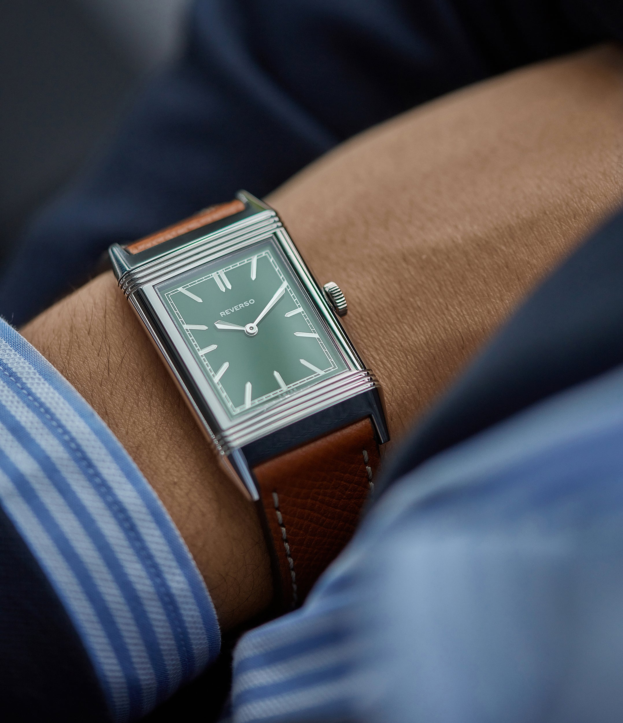buy Cal. 822 Jaeger-LeCoultre Grand Reverso 1931 Green London Flagship Edition
