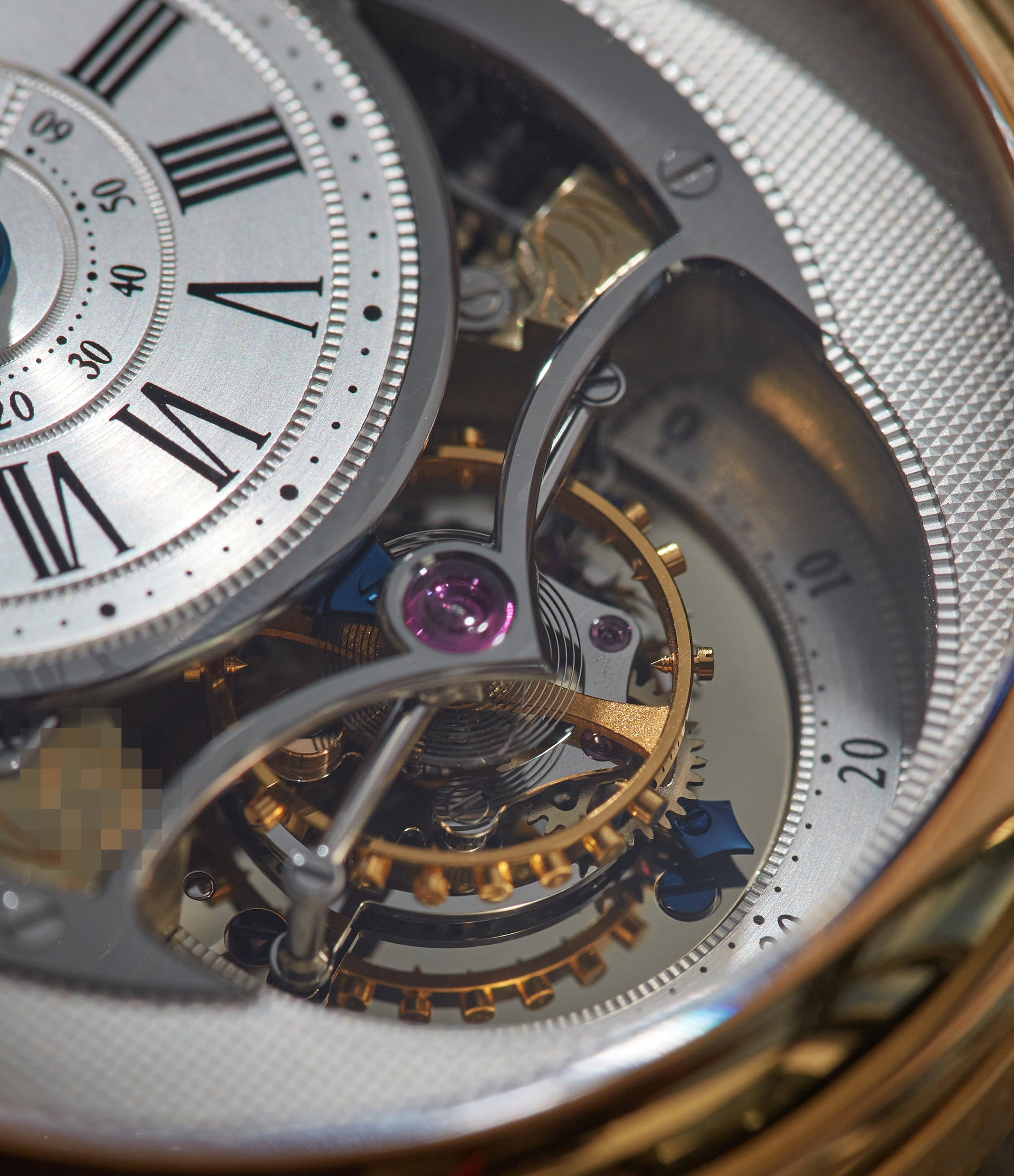 two-minute tourbillon Jean Daniel Nicolas Two-Minute Tourbillon by independent watchmaker Daniel Roth rose gold pre-owned rare watch for sale online A Collected Man London specialist of rare watches